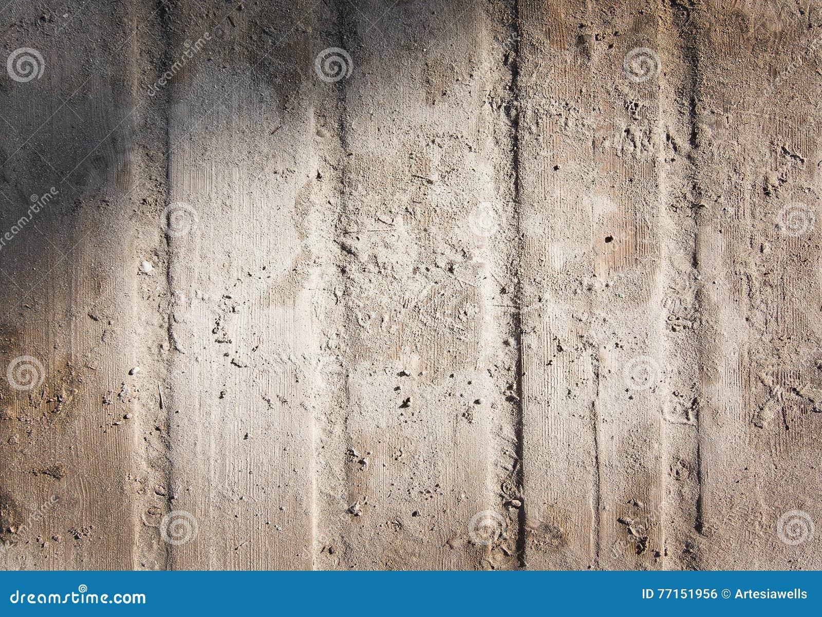 Fond en bois de plan rapproché de promenade de Sandy