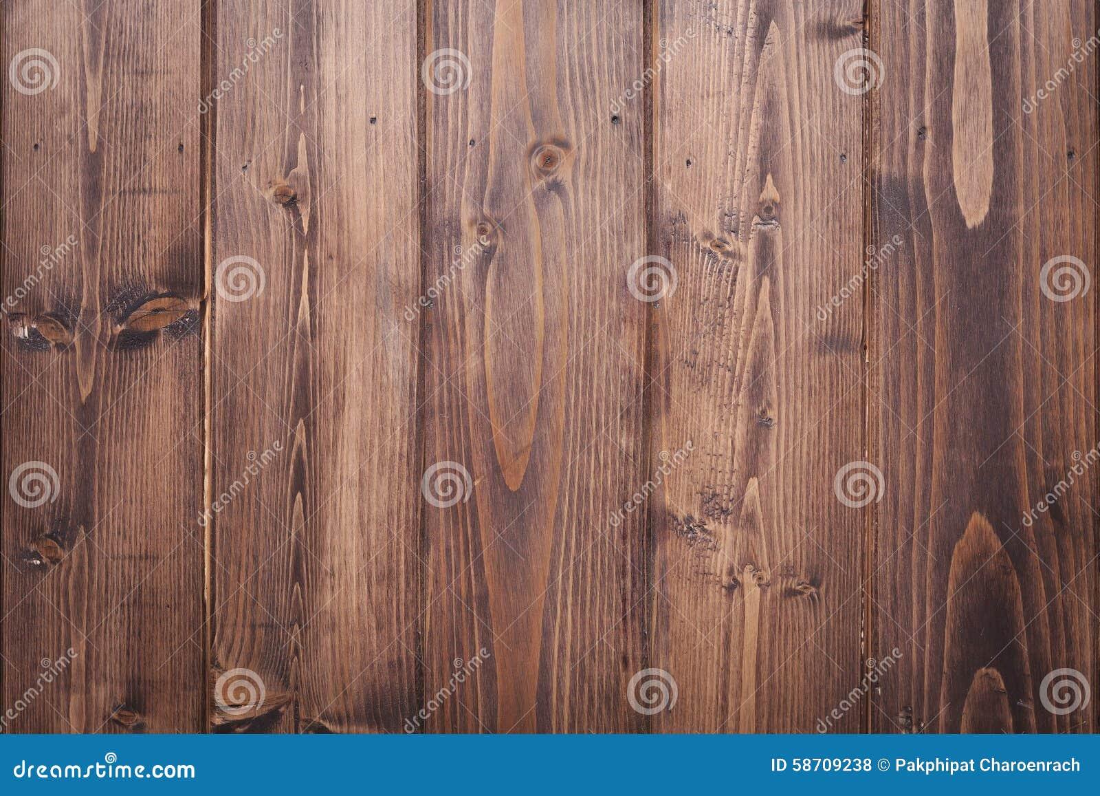 Fond en bois de texture de brun de planche