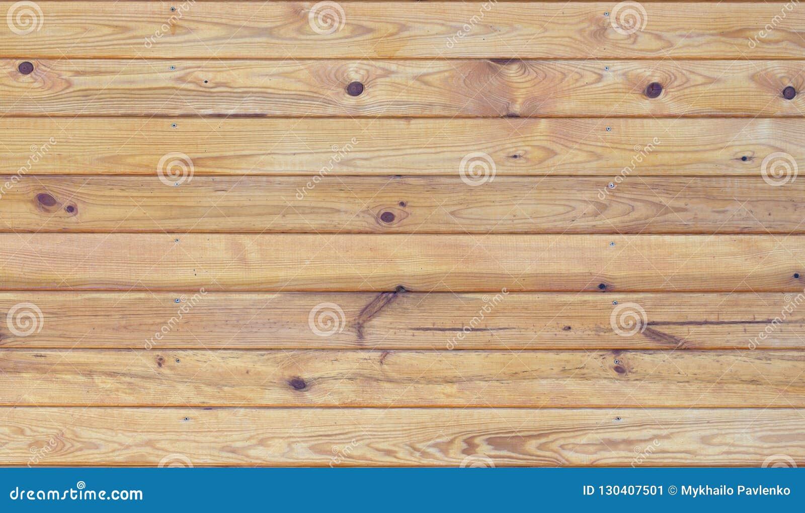 Fond en bois de texture de mur de planche de Brown