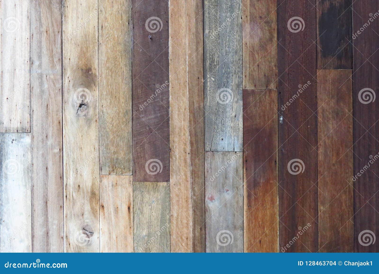 Fond en bois de texture, planches en bois Surface en bois foncée de fond de texture avec le vieux modèle naturel Texture en bois