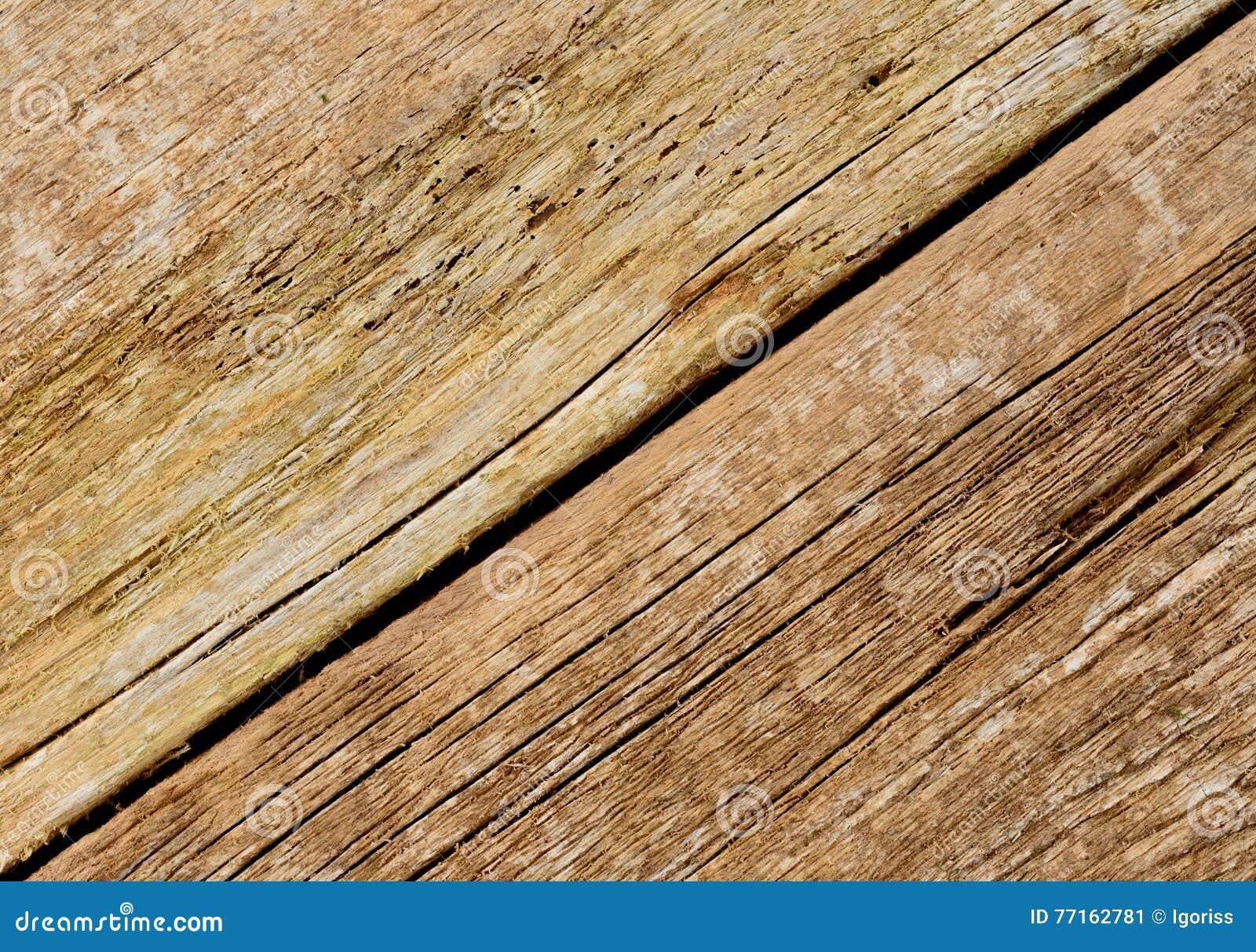 Fond en bois de texture Rustique cracky de Chabby