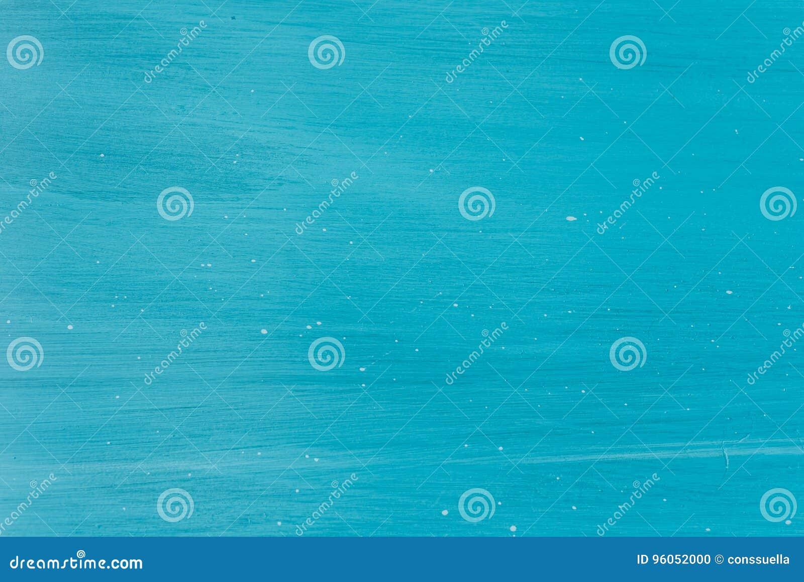 Fond en bois peint par turquoise