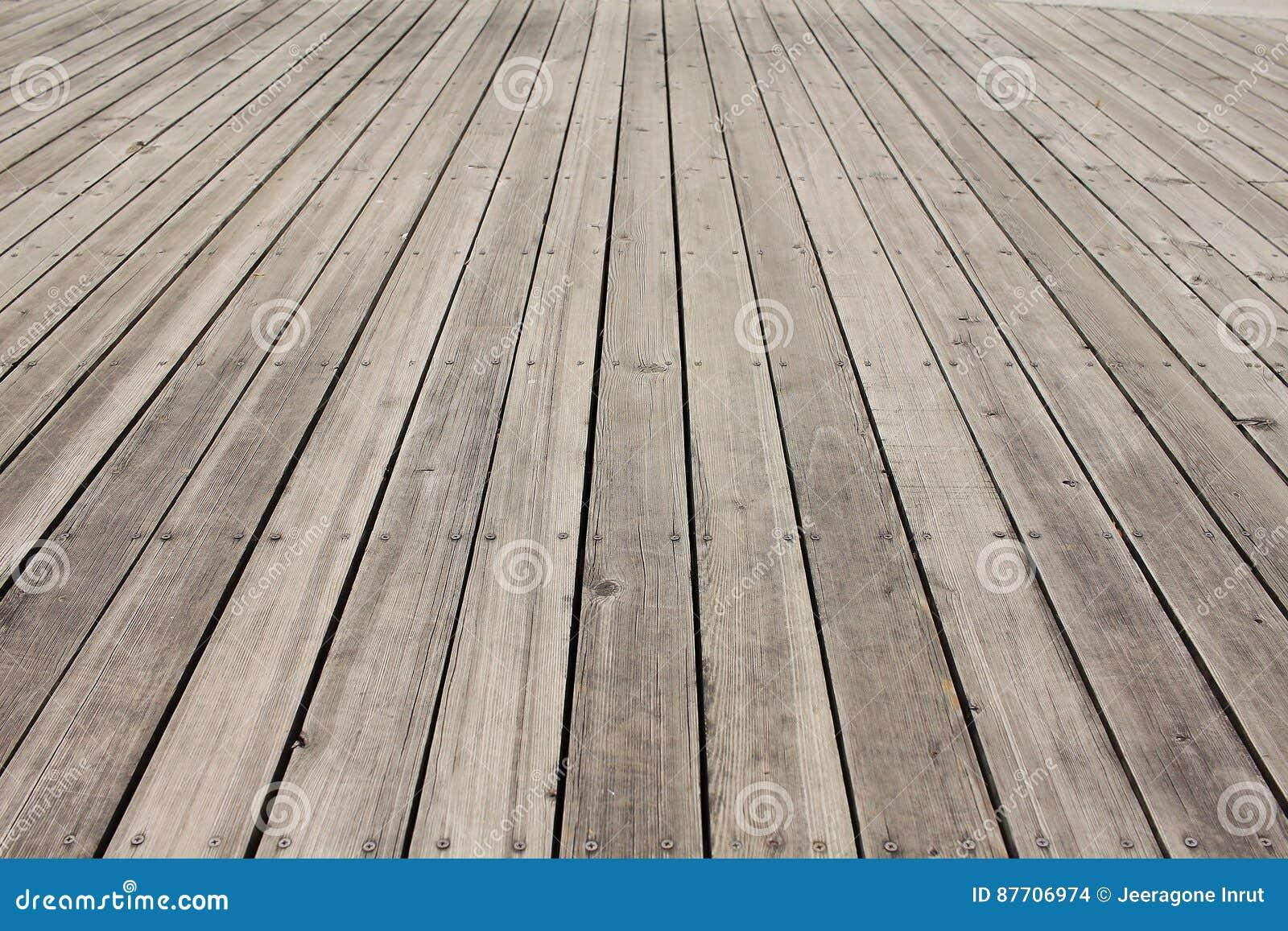 Fond en bois vide de plancher