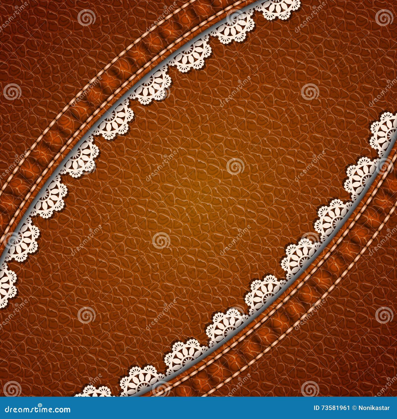Fond en cuir de texture illustration de vecteur. Illustration du tissu - 73581961