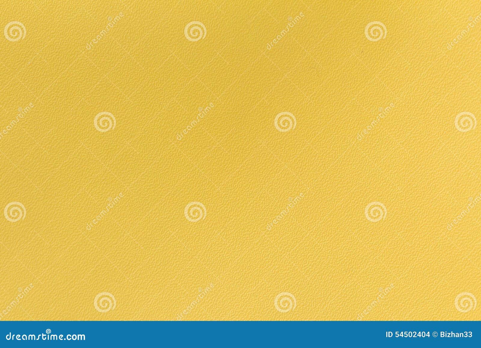 Fond en cuir jaune