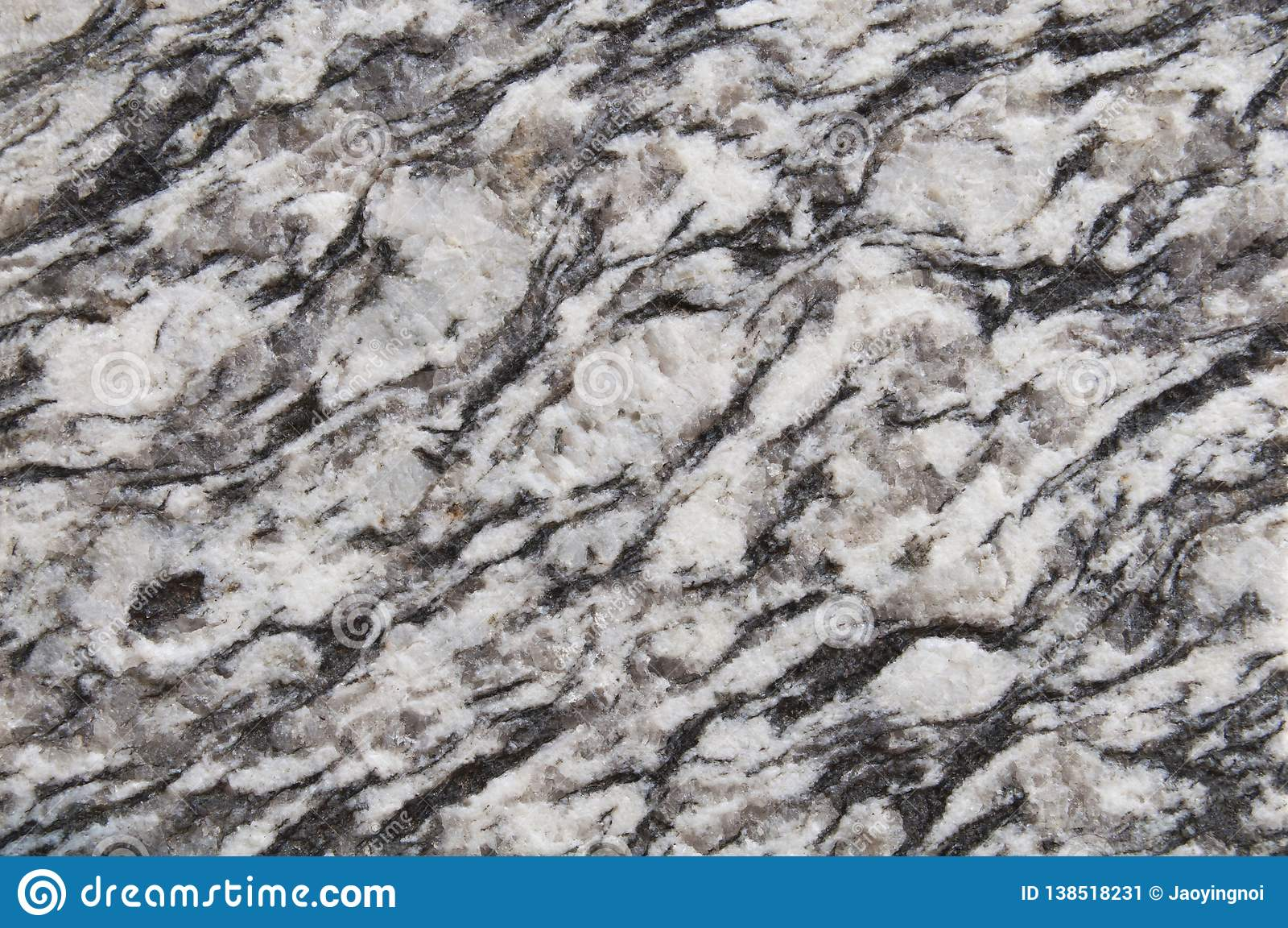 Fond en pierre brun noir et blanc et foncé de texture de granit mur, granit de noir de plancher, conception ou abstra naturelle d