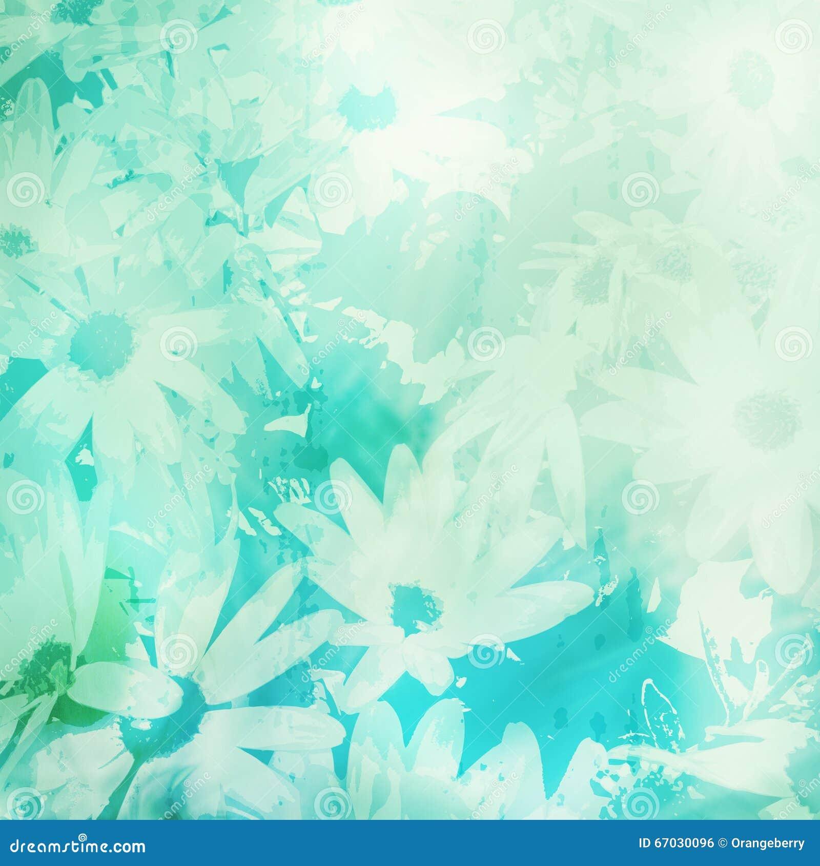 Fond floral de cru