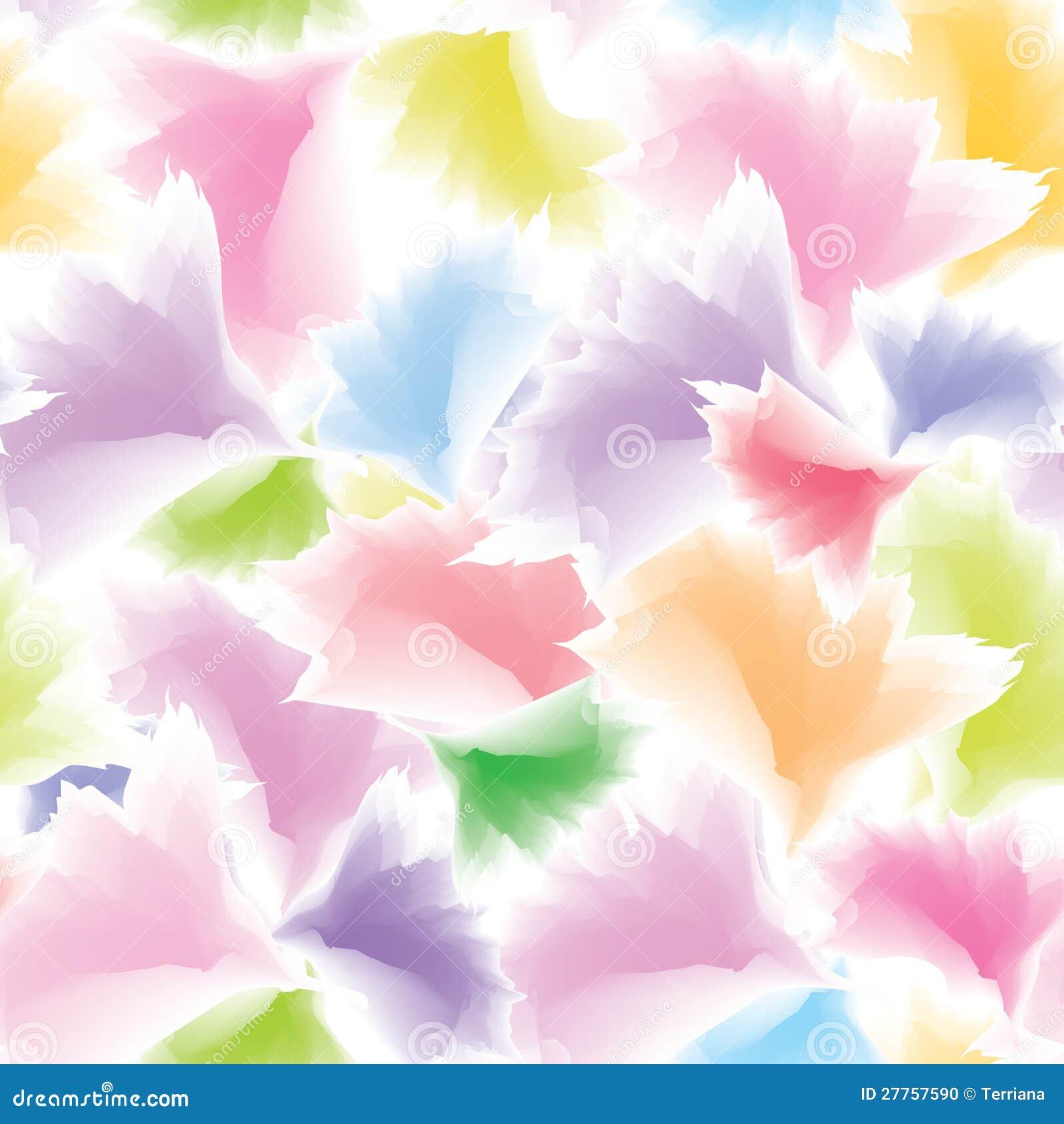 Fond floral multicolore abstrait