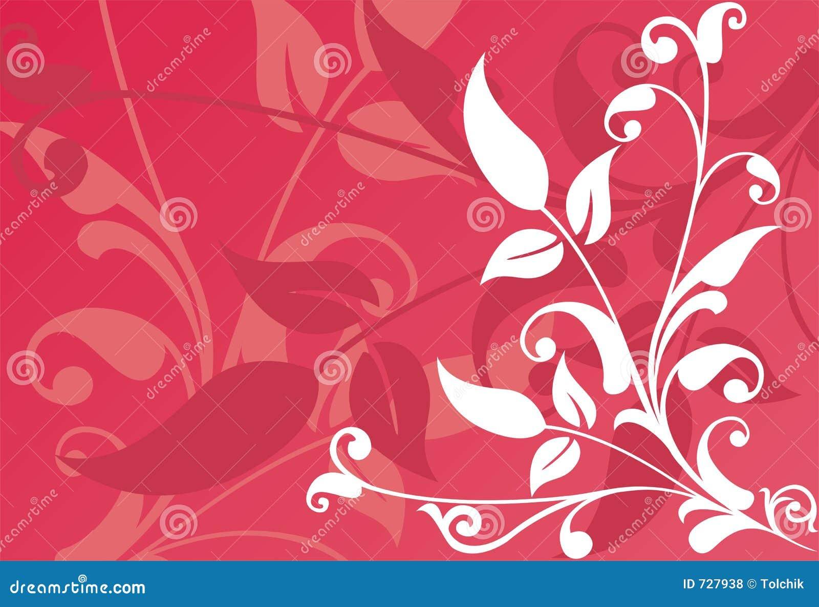 Fond floral, vecteur
