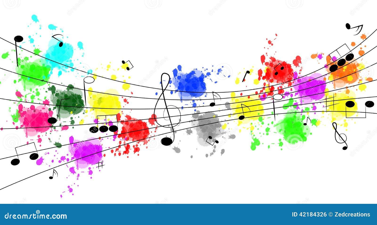 Fond génial de musique