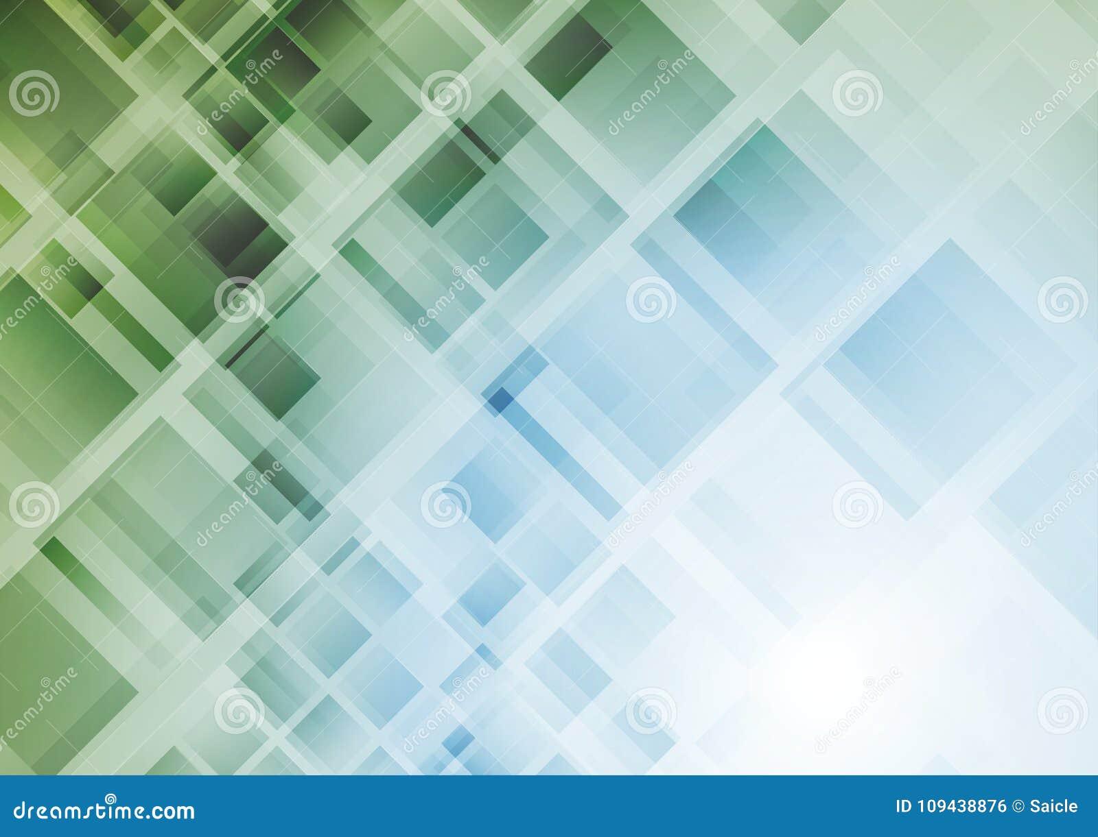 Fond géométrique abstrait de technologie avec des places