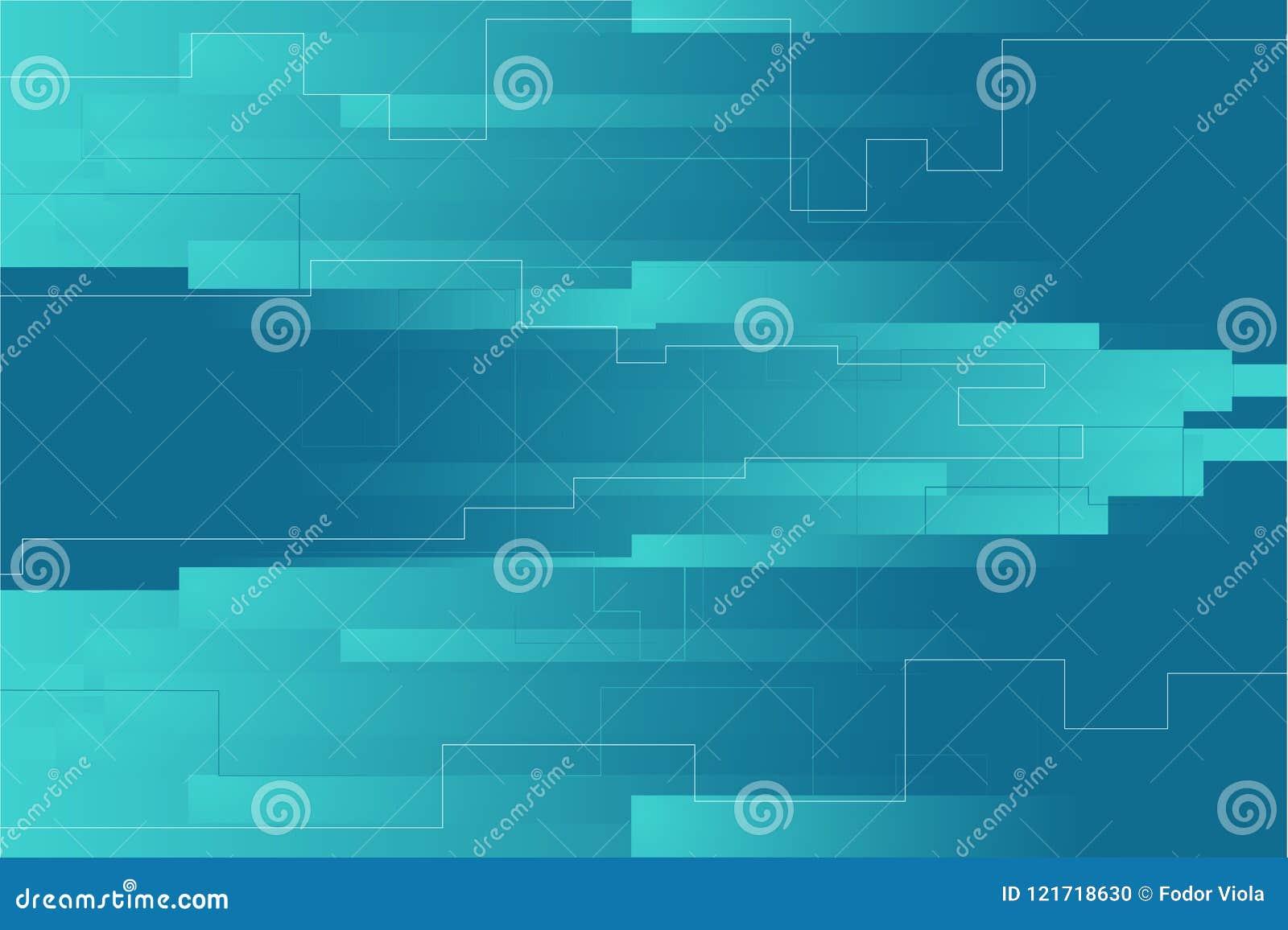 Fond géométrique de rectangles Composition en page d atterrissage