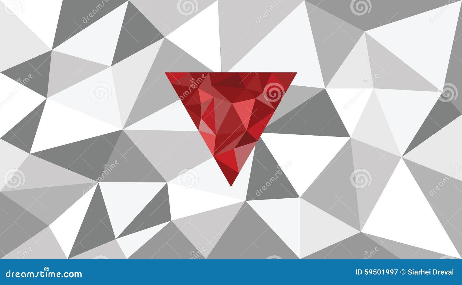 Fond g om trique de web de vecteur brillant abstrait forme rouge dans l 39 avant nuances de - Les differentes nuances de rouge ...