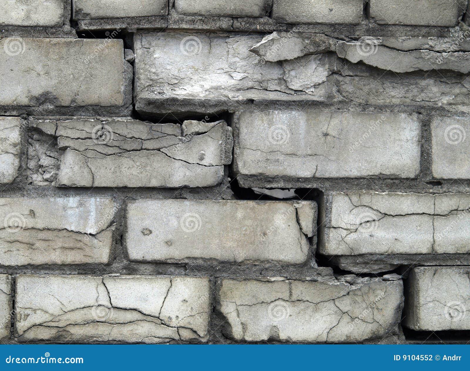 Fond gris de mur de briques photo stock image du fonc Mur de brique gris