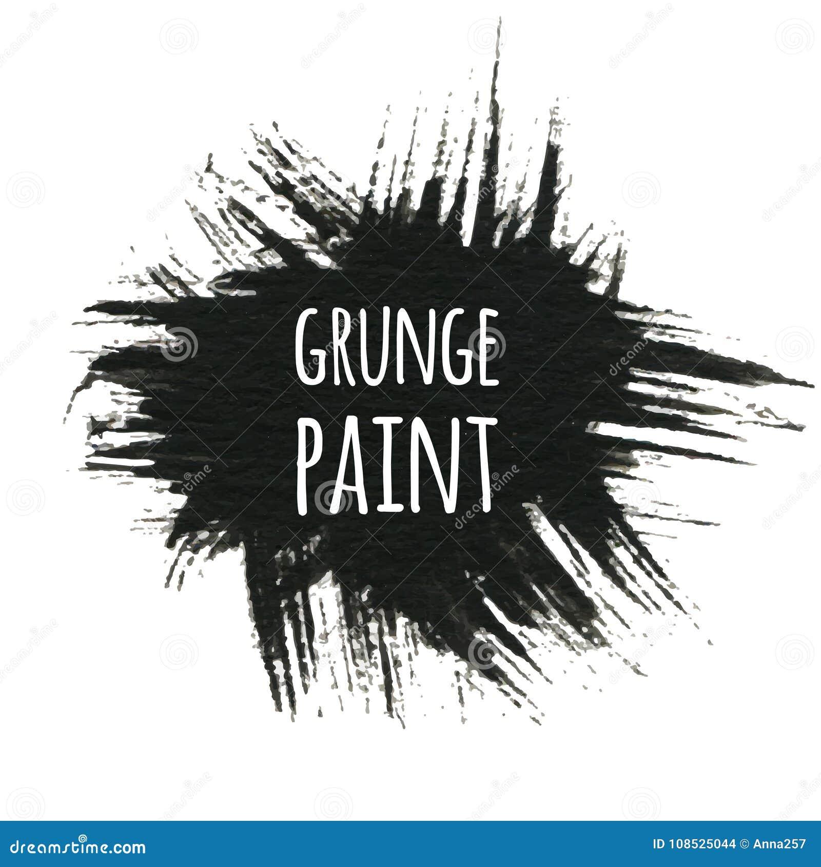 Fond grunge de peinture, illustration de vecteur pour votre conception