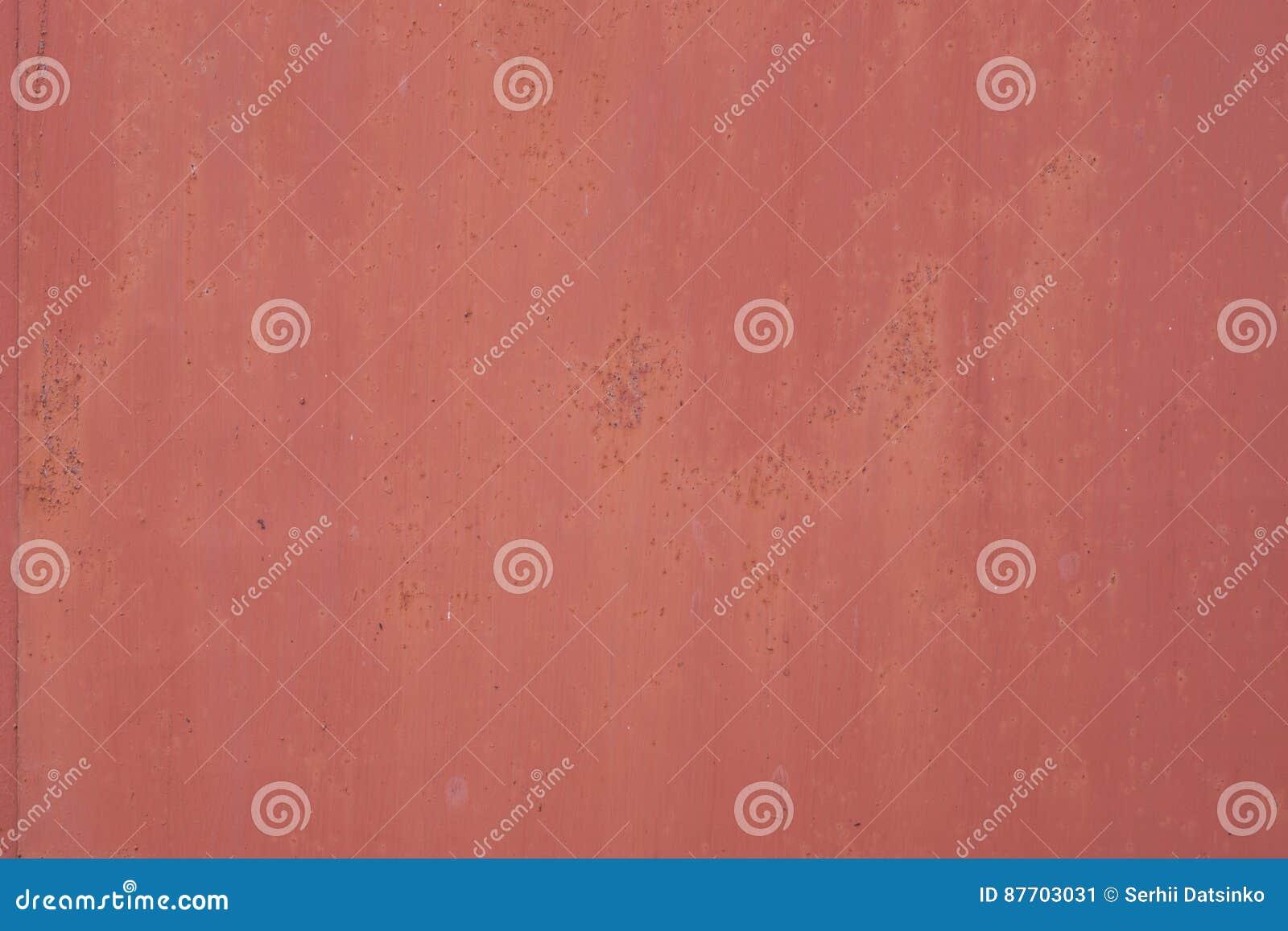 Fond grunge rouillé porté rouge de fer