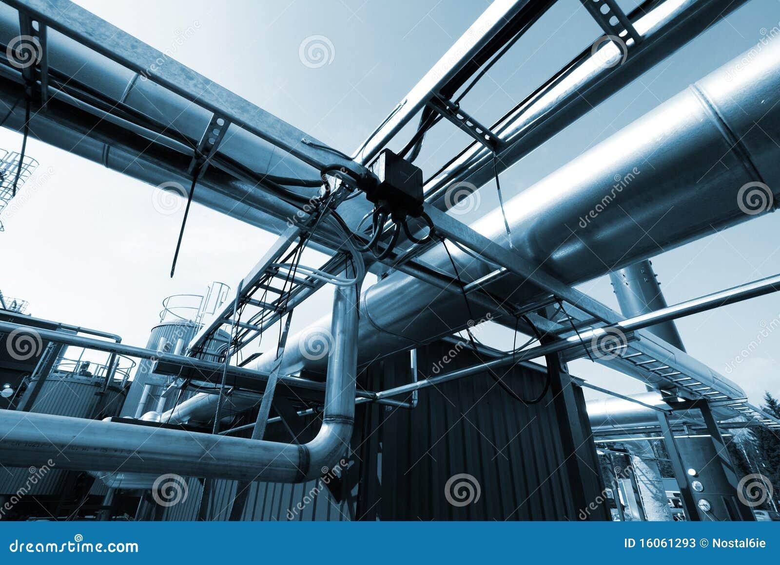 Fond industriel abstrait