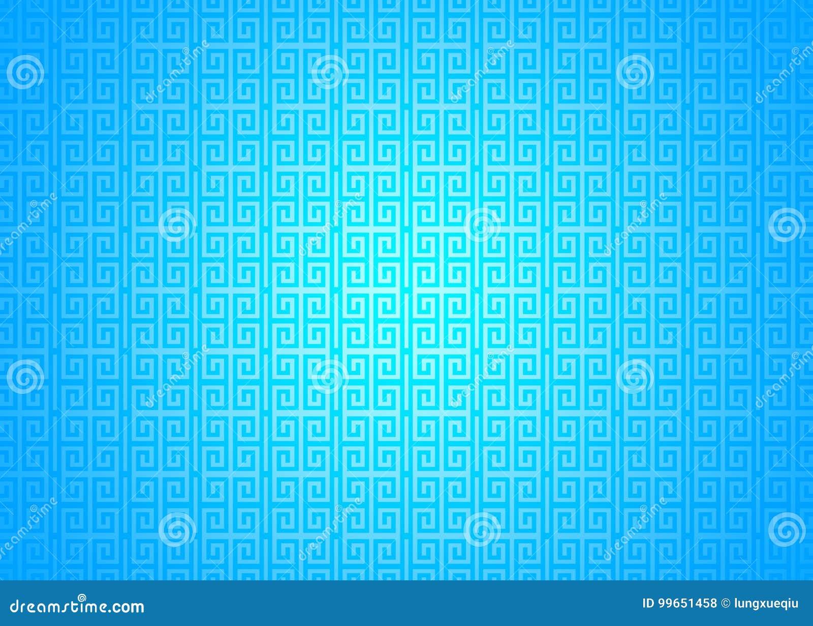 Fond islamique arabe chinois ornemental oriental bleu de texture de modèle Imlek Ramadan Festival Wallpaper