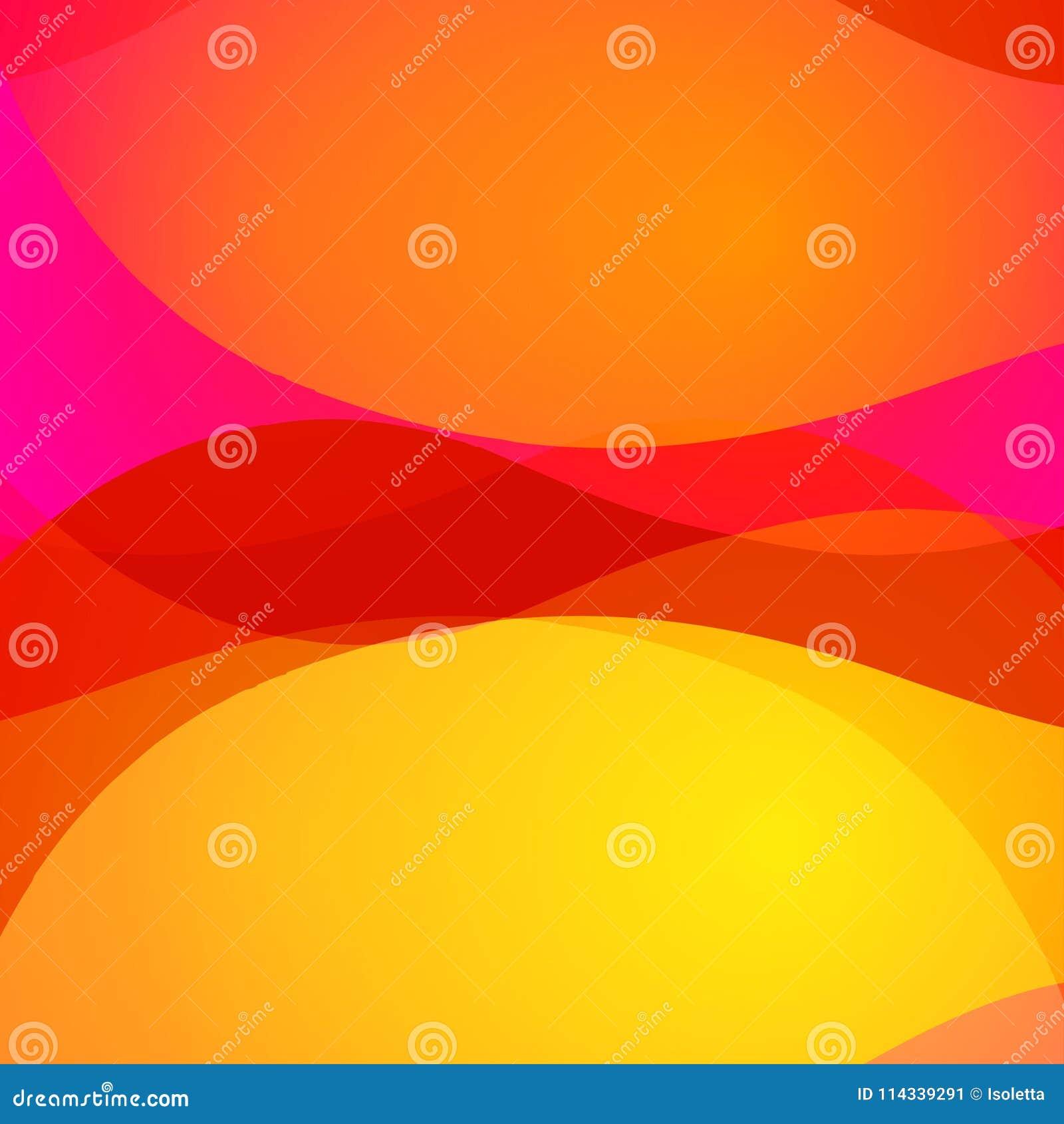 Fond lumineux abstrait coloré avec les lignes onduleuses colorées Texture décorative de conception