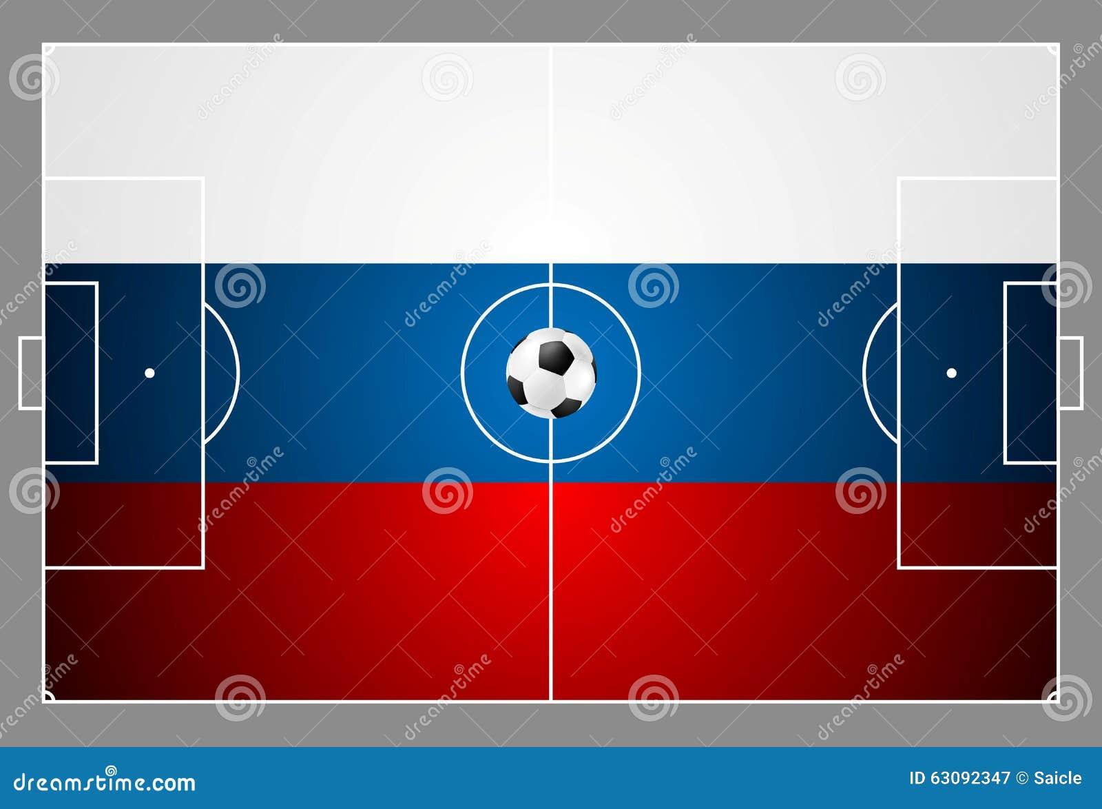 Download Fond Lumineux Du Football Avec La Boule Couleurs Russes Illustration de Vecteur - Illustration du lumière, champions: 63092347