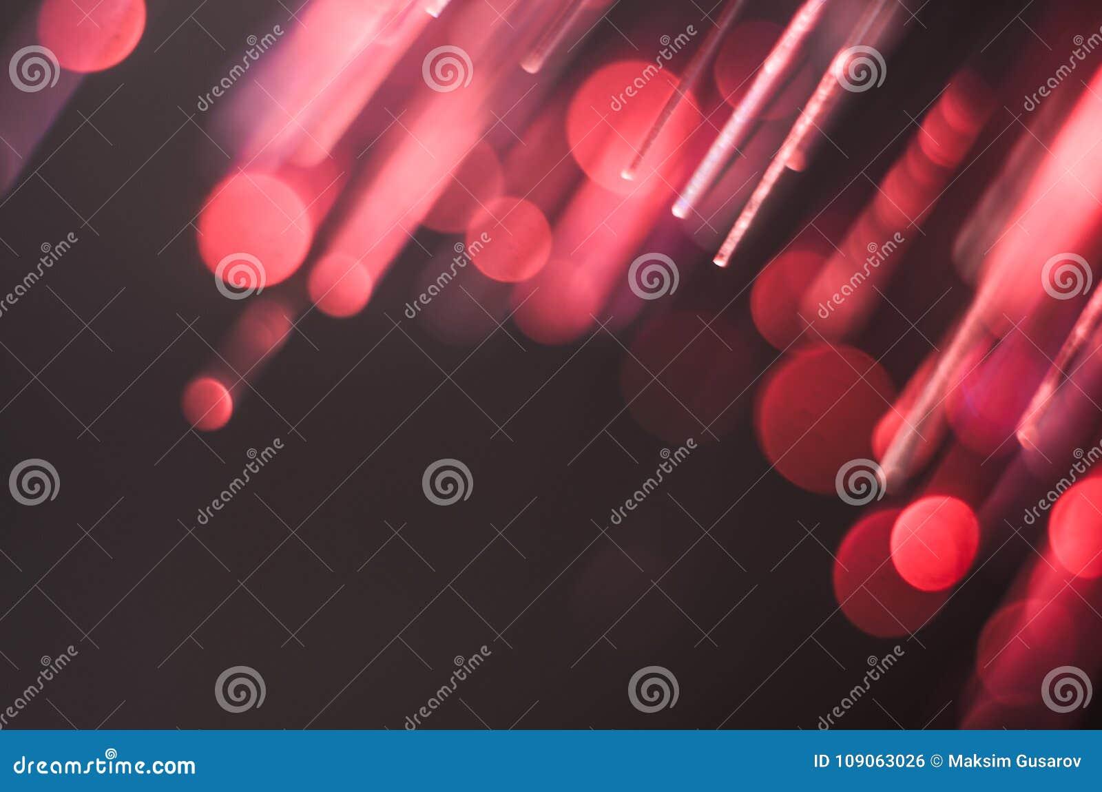 Fond lumineux et coloré de concept de fibre de verre