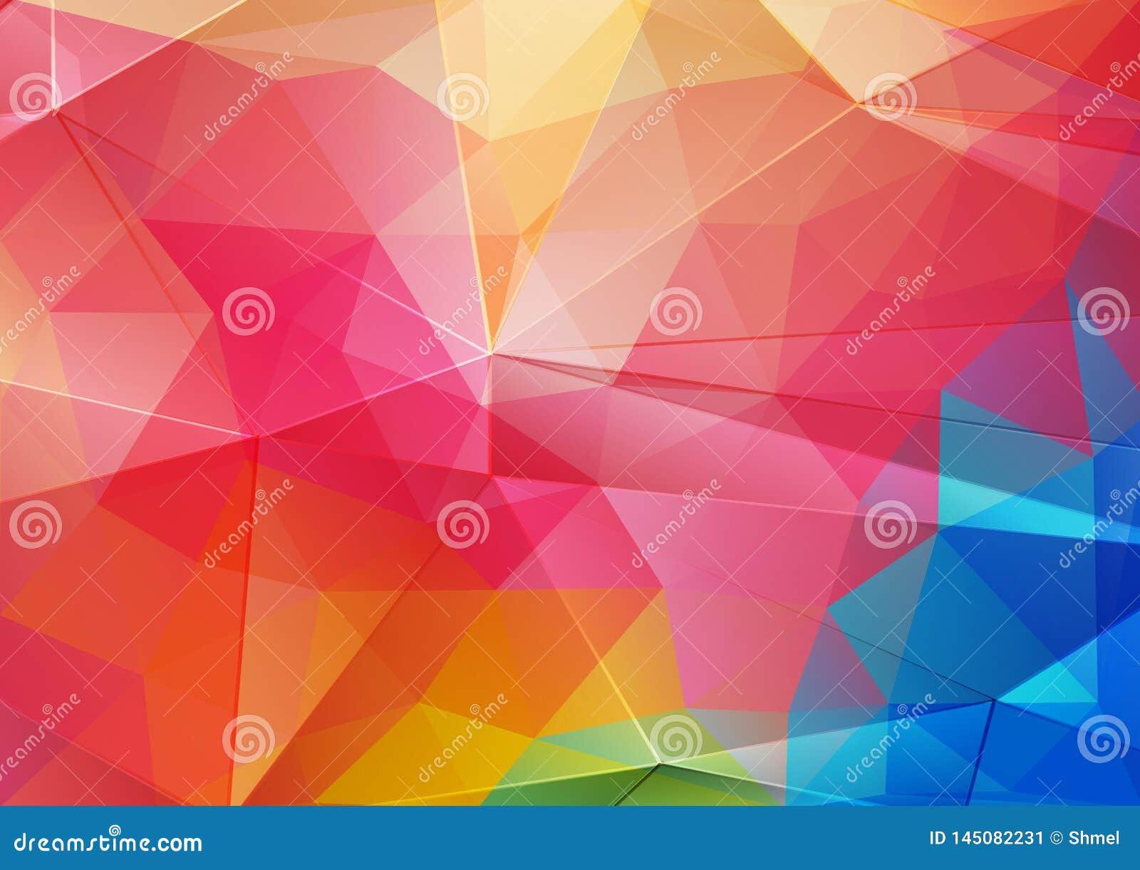 Couleur Avec Du Rouge fond lumineux vert et bleu rouge de couleur avec des formes