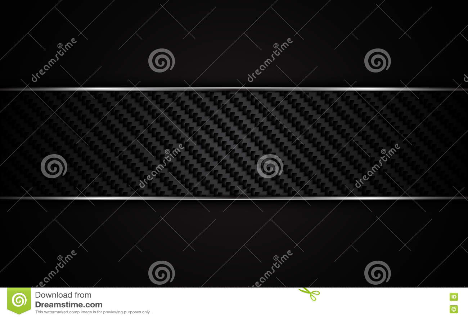Fond métallique abstrait de calibre de conception de texture de Kevlar de carbone de cadre