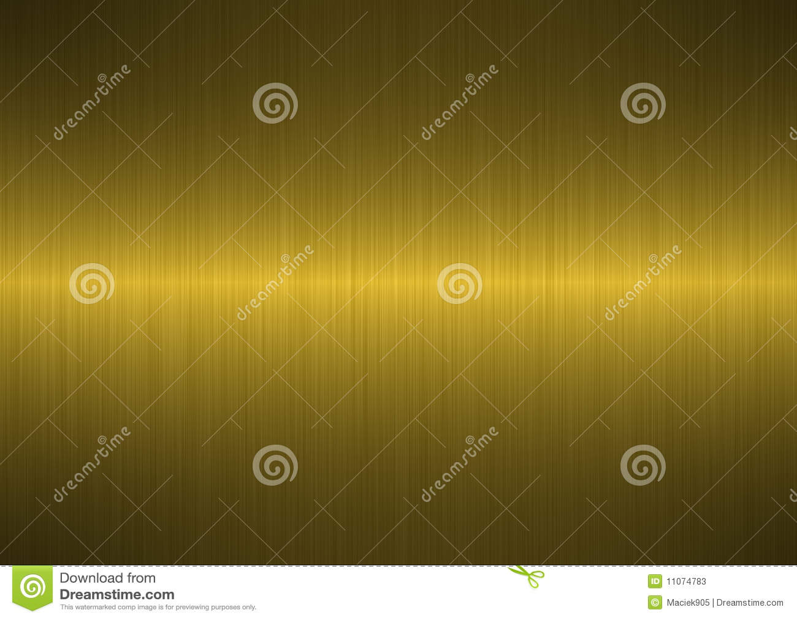 Fond métallique balayé d or