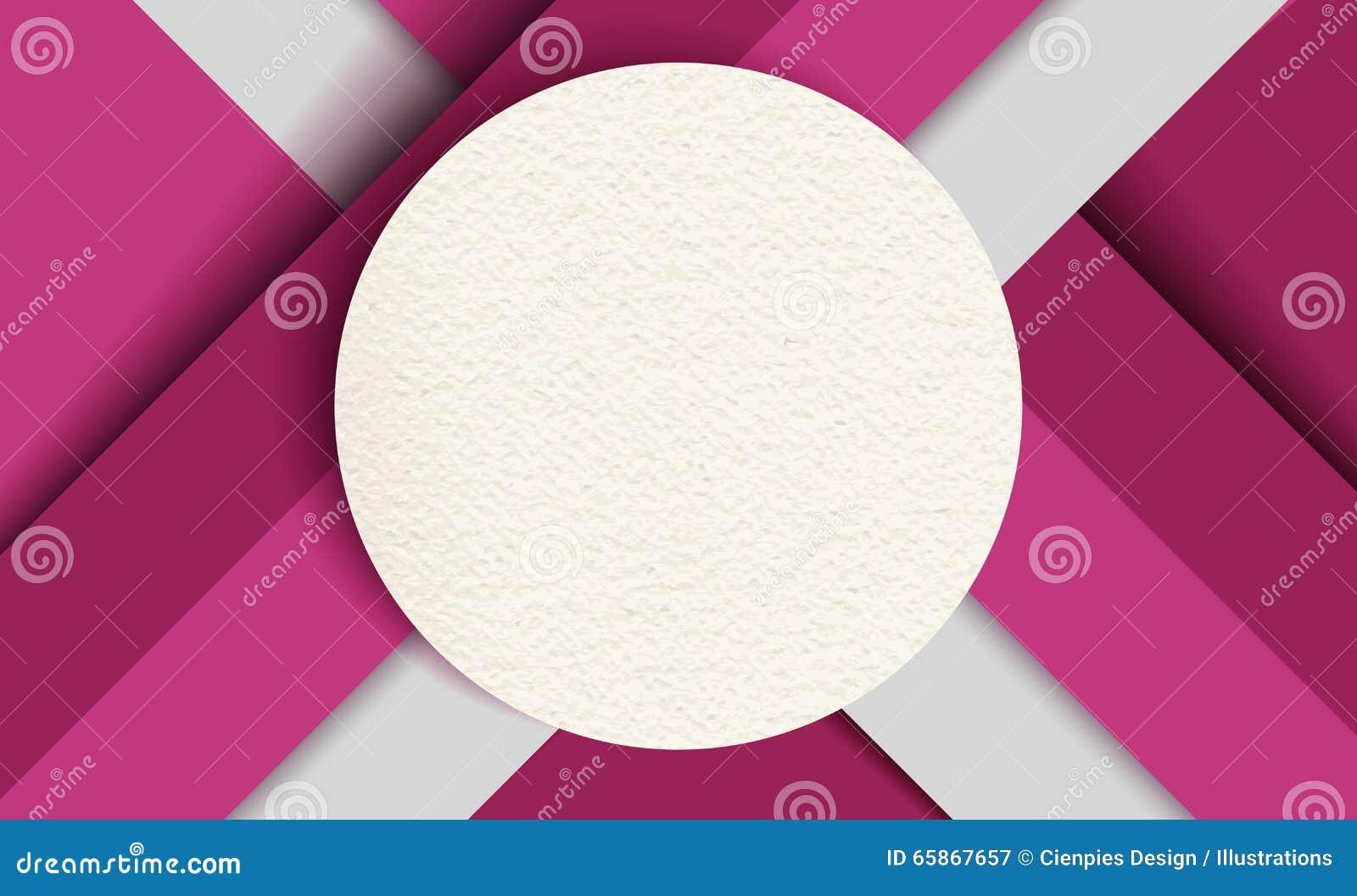 Fond matériel de conception, formes de papier colorées