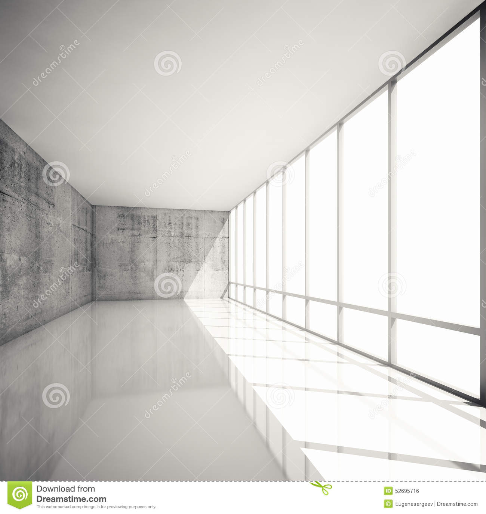 Fond moderne abstrait de l 39 architecture 3d int rieur vide for Architecture interieur 3d