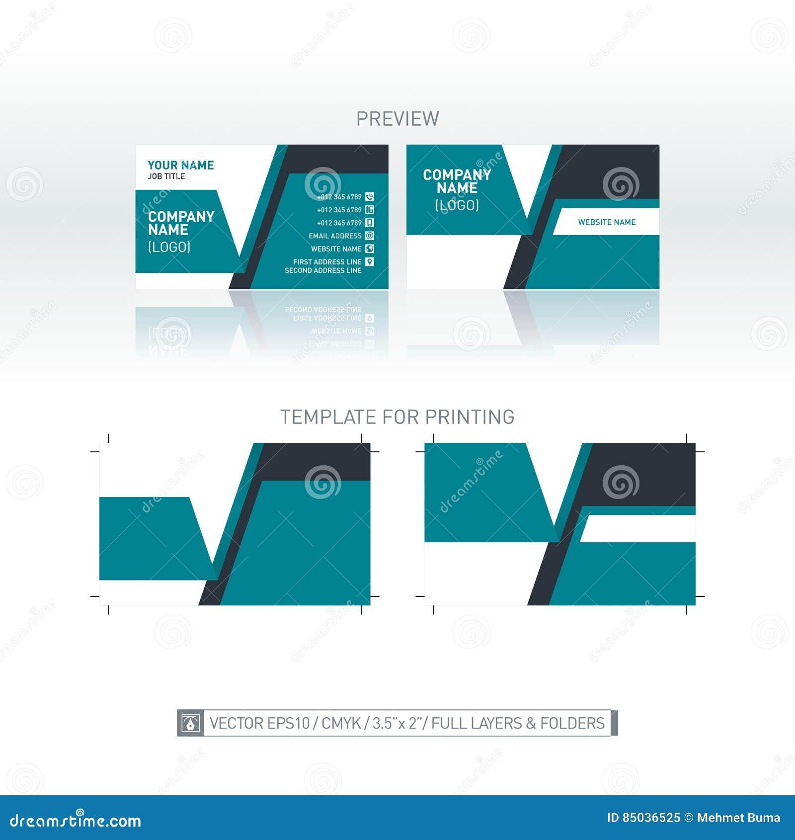 Download Fond Moderne De Carte Visite Professionnelle Dimensions Linaires Pour La Copie Illustration
