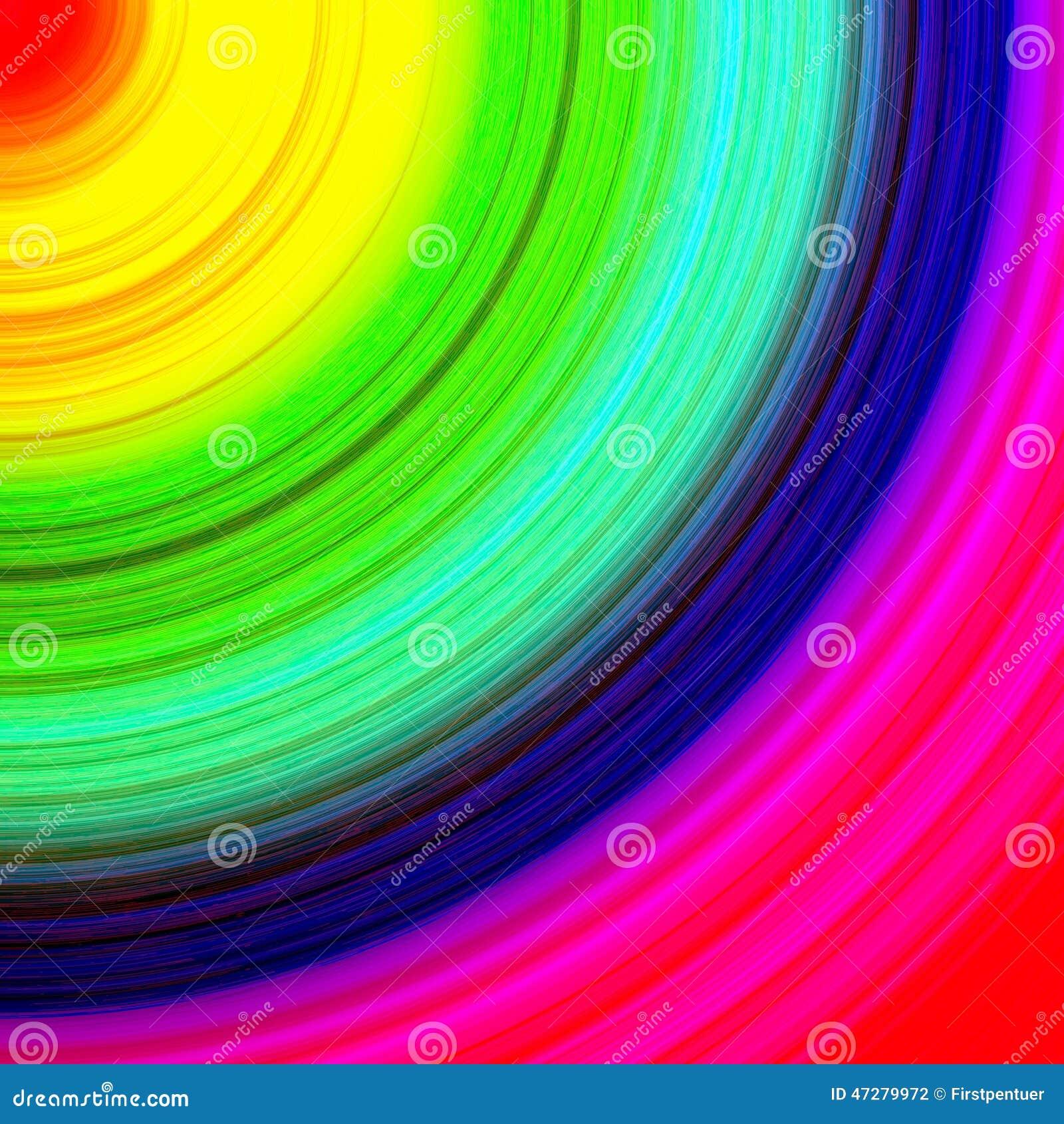 Fond multicolore abstrait de cercle de quart d 39 arc en ciel - Image arc en ciel gratuite ...