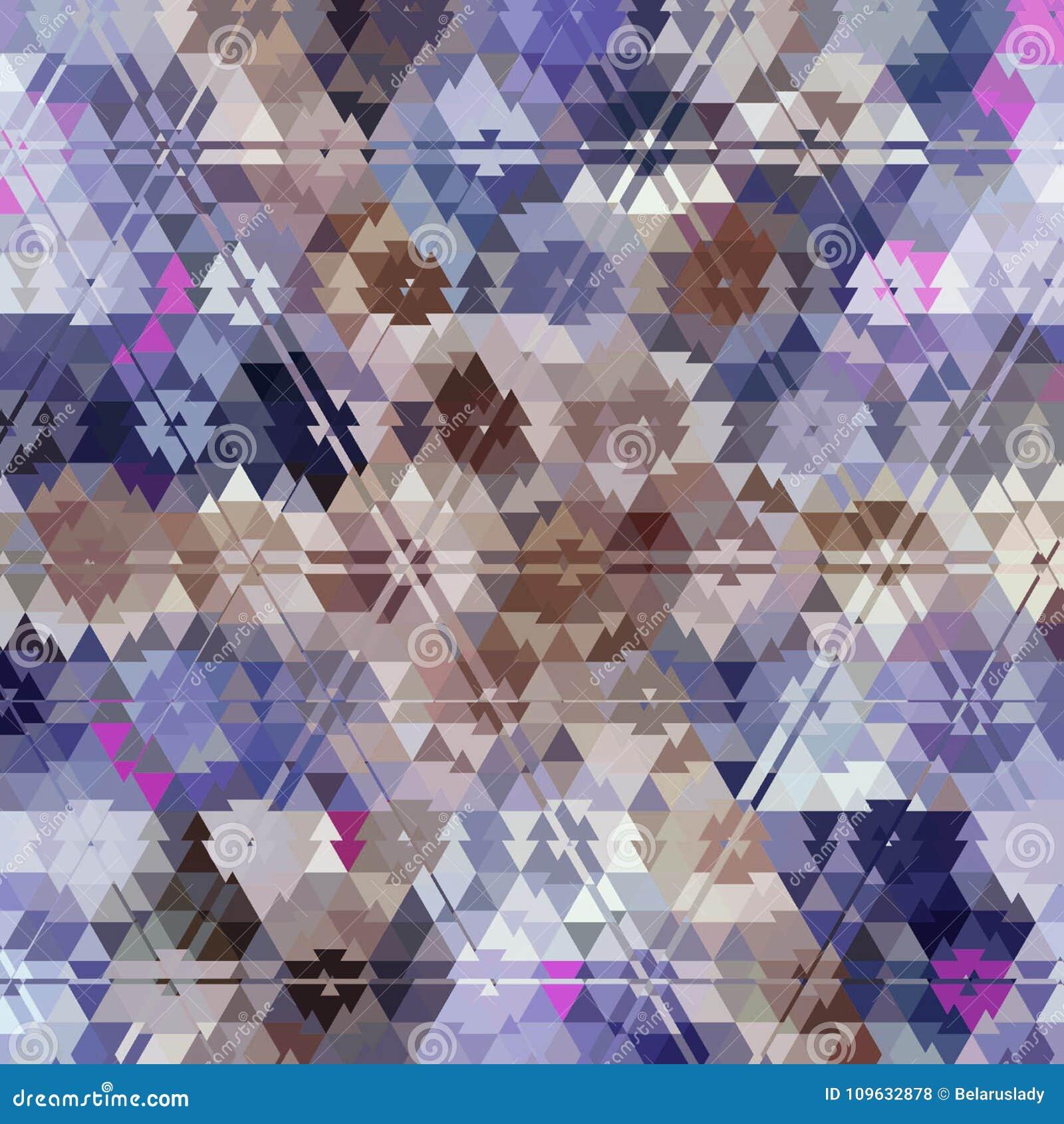 Fond Multicolore De Triangle Couleur En Pastel Legere Bleue Rose
