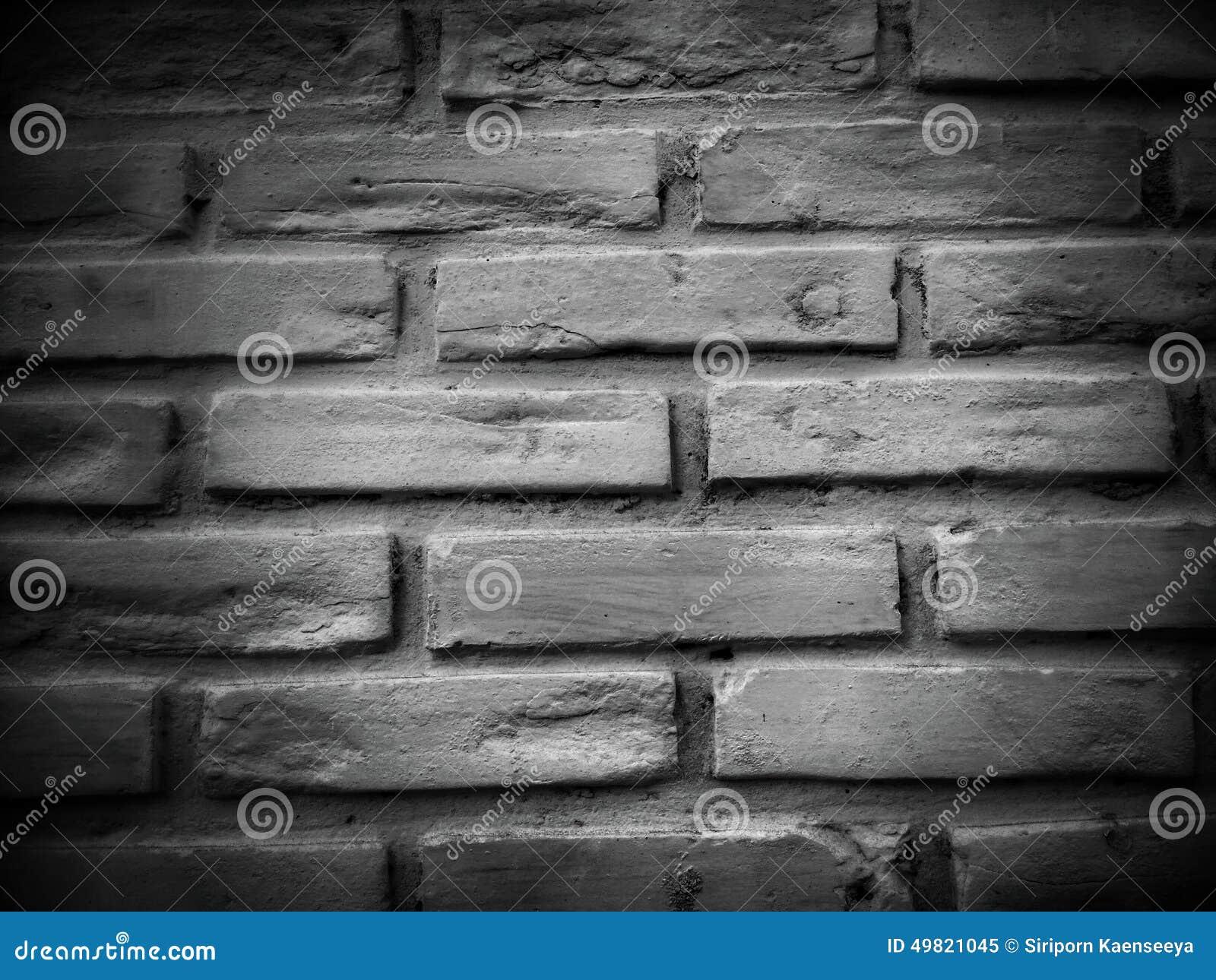 fond noir et blanc de texture de mur de briques photo stock image 49821045. Black Bedroom Furniture Sets. Home Design Ideas