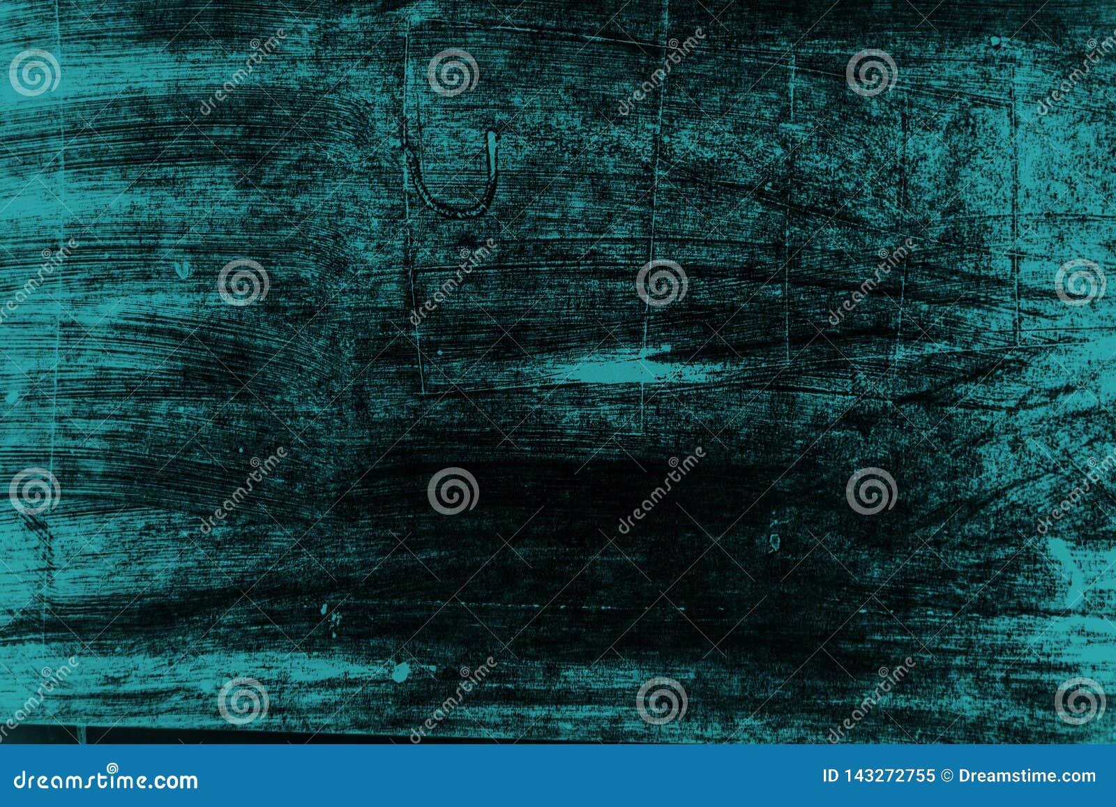 Fond noir et bleu de courses de pinceau