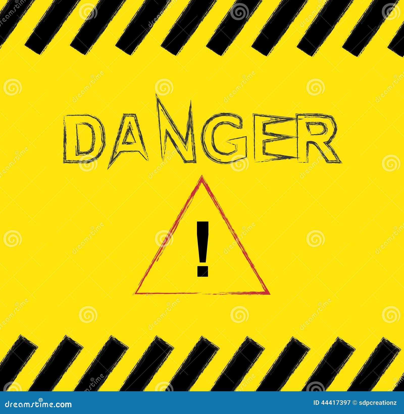 Fond noir et jaune de danger illustration de vecteur illustration du sous tort 44417397 - Chenille jaune et noire danger ...