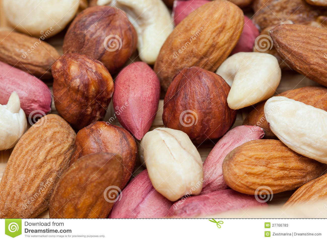 Fond nuts normal