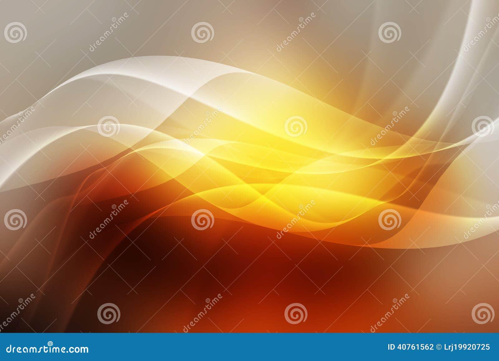 Fond orange abstrait