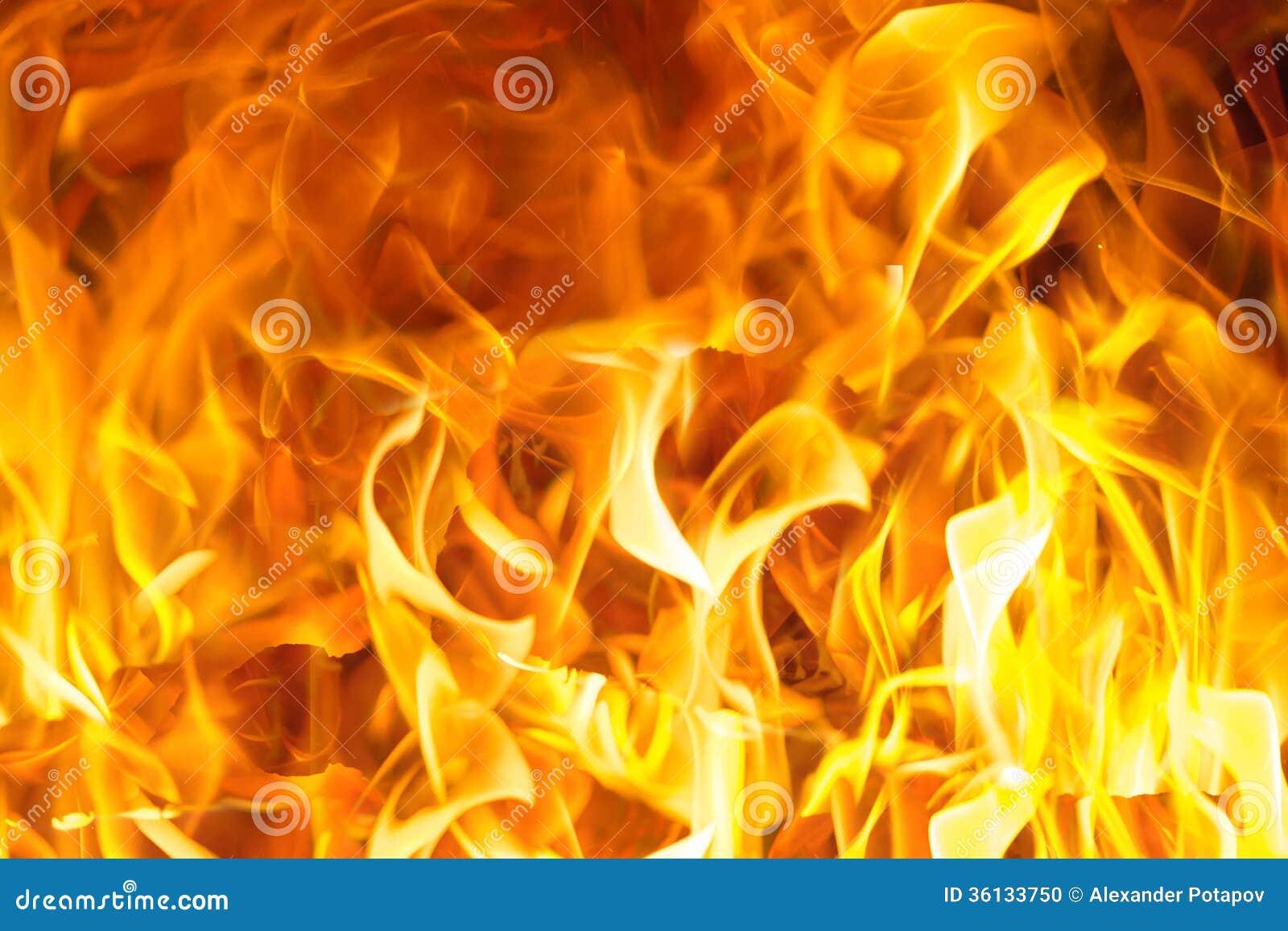 fond orange lumineux de flamme photo stock image 36133750. Black Bedroom Furniture Sets. Home Design Ideas