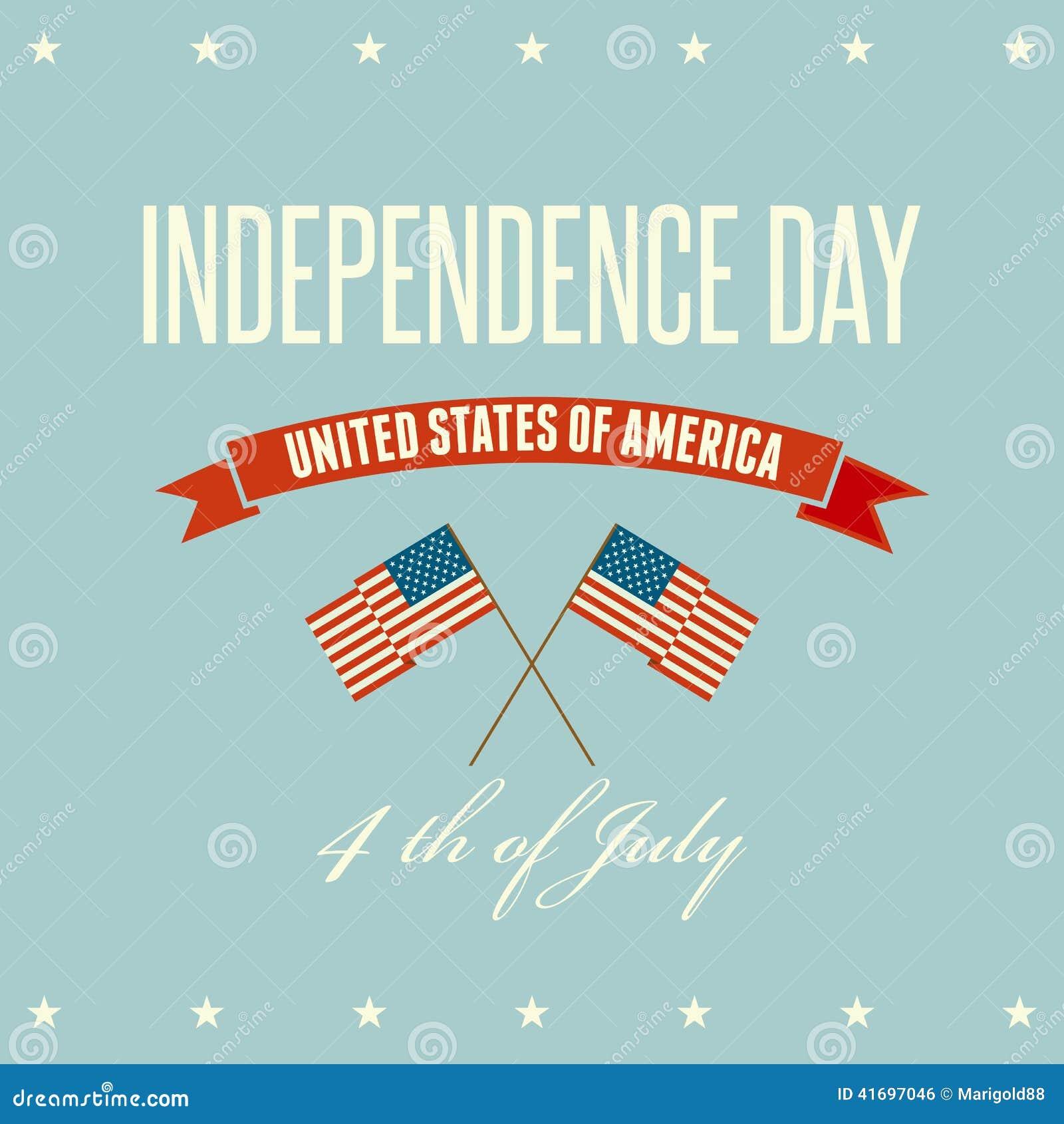 Fond patriotique de Jour de la Déclaration d Indépendance américain