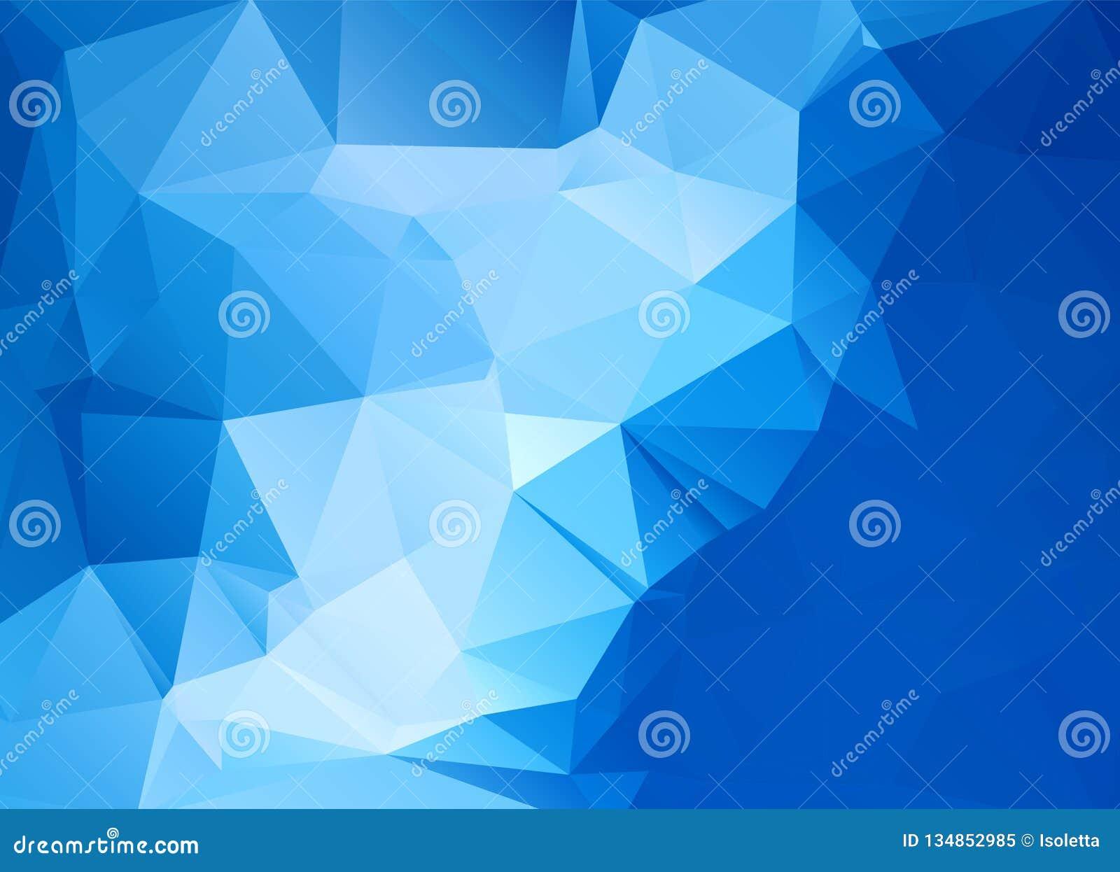 Fond polygonal abstrait Style futuriste Texture colorée géométrique de triangle Surface de Mosaical