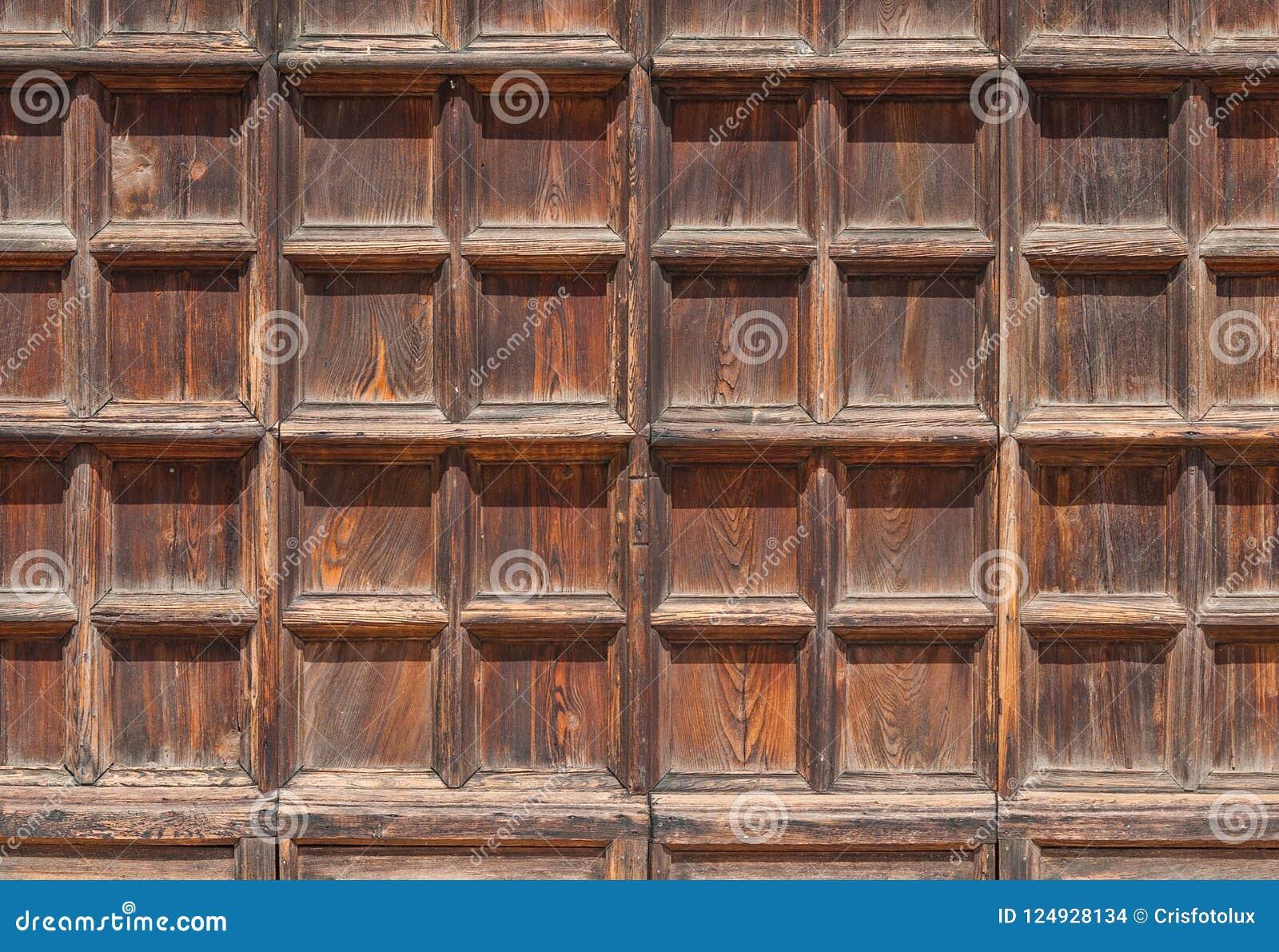 Vieux Portail En Bois fond portail en bois photo stock. image du fond, brun