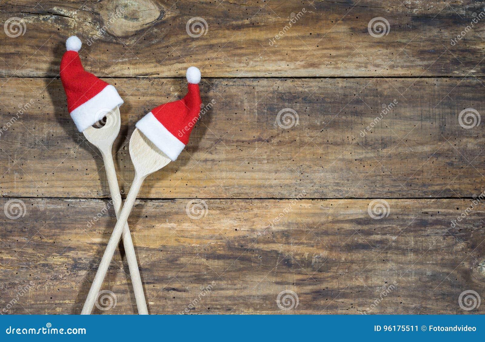 Carte De Menu Pour Noel.Fond Pour La Carte De Menu De Nourriture De Noel Image Stock
