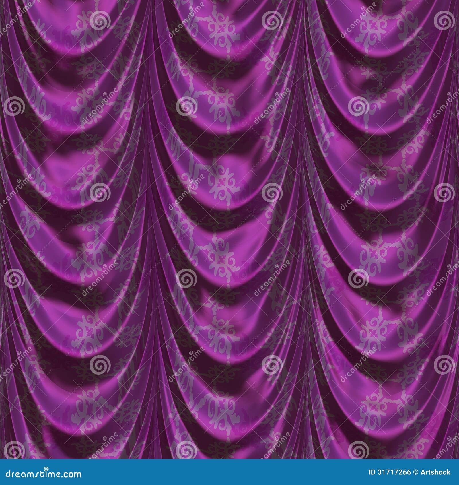 fond pourpre de rideau image libre de droits image 31717266
