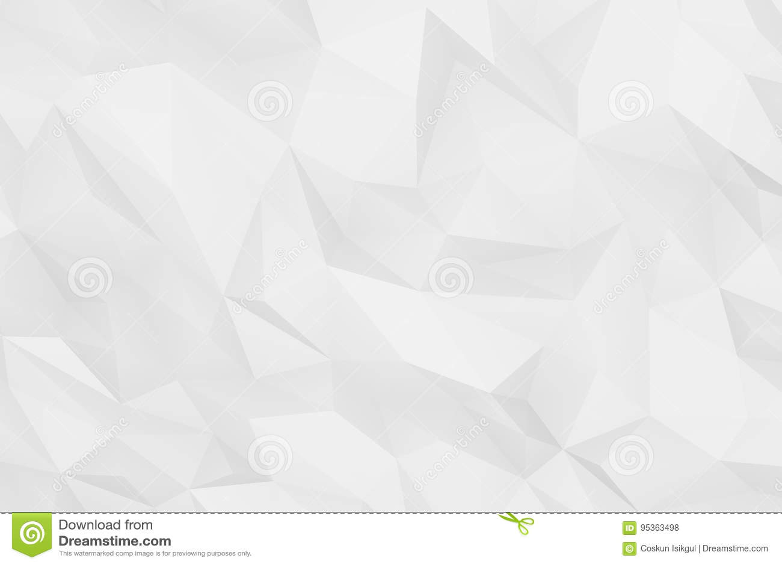 Fond Pur Geometrique Abstrait Polygonal De Blanc Gris Papier Peint