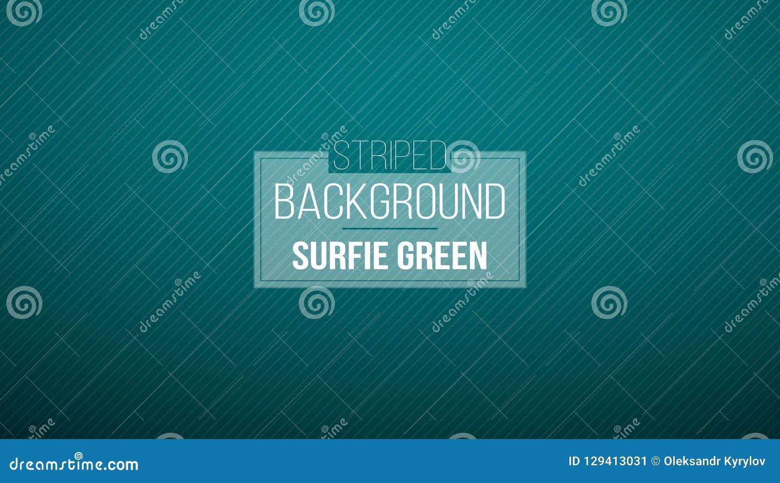 Fond rayé vert bleu-foncé Illustration de vecteur Modèle tout neuf pour votre design d entreprise Fond coloré dans l abstra