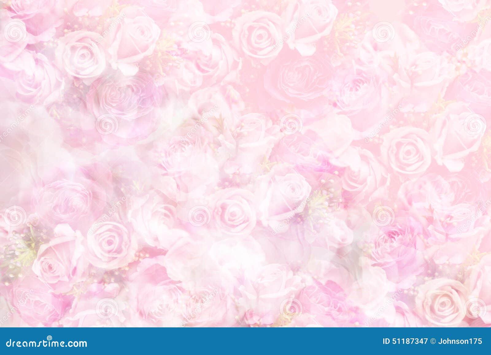 Fond Rose De Pastel Photo stock - Image: 51187347