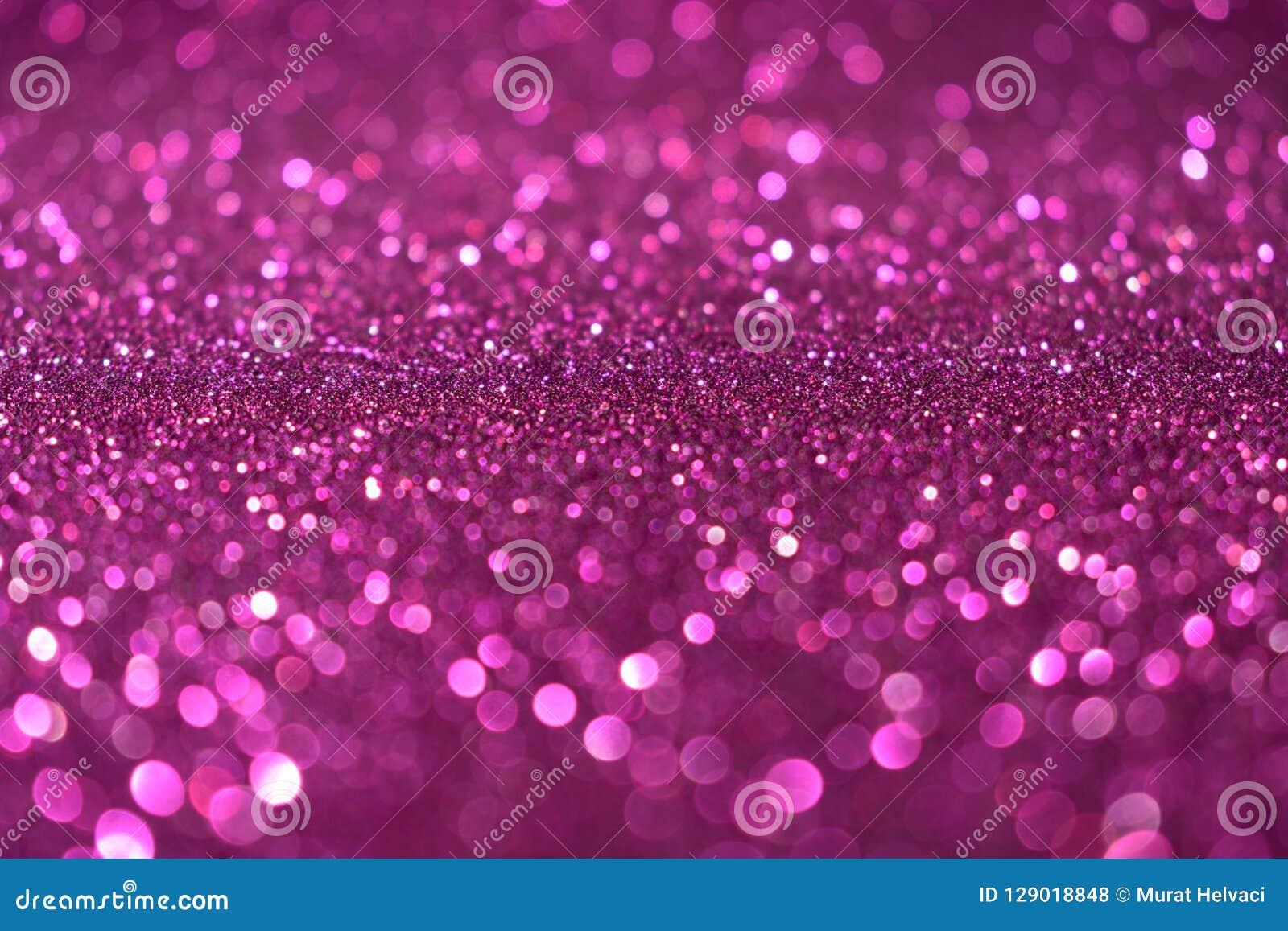 Fond rose violet de scintillement de Valentine Day de nouvelle année de Noël Tissu abstrait de texture de vacances Élément, éclai