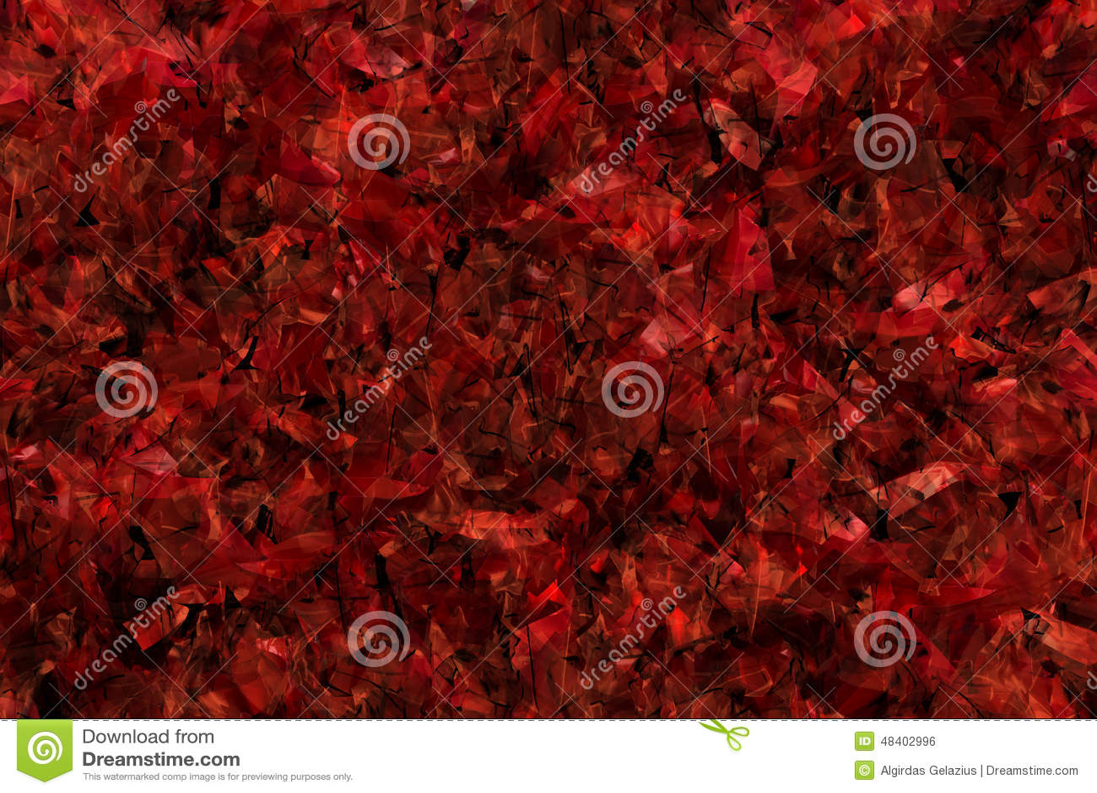 Fond rouge érotique chaotique