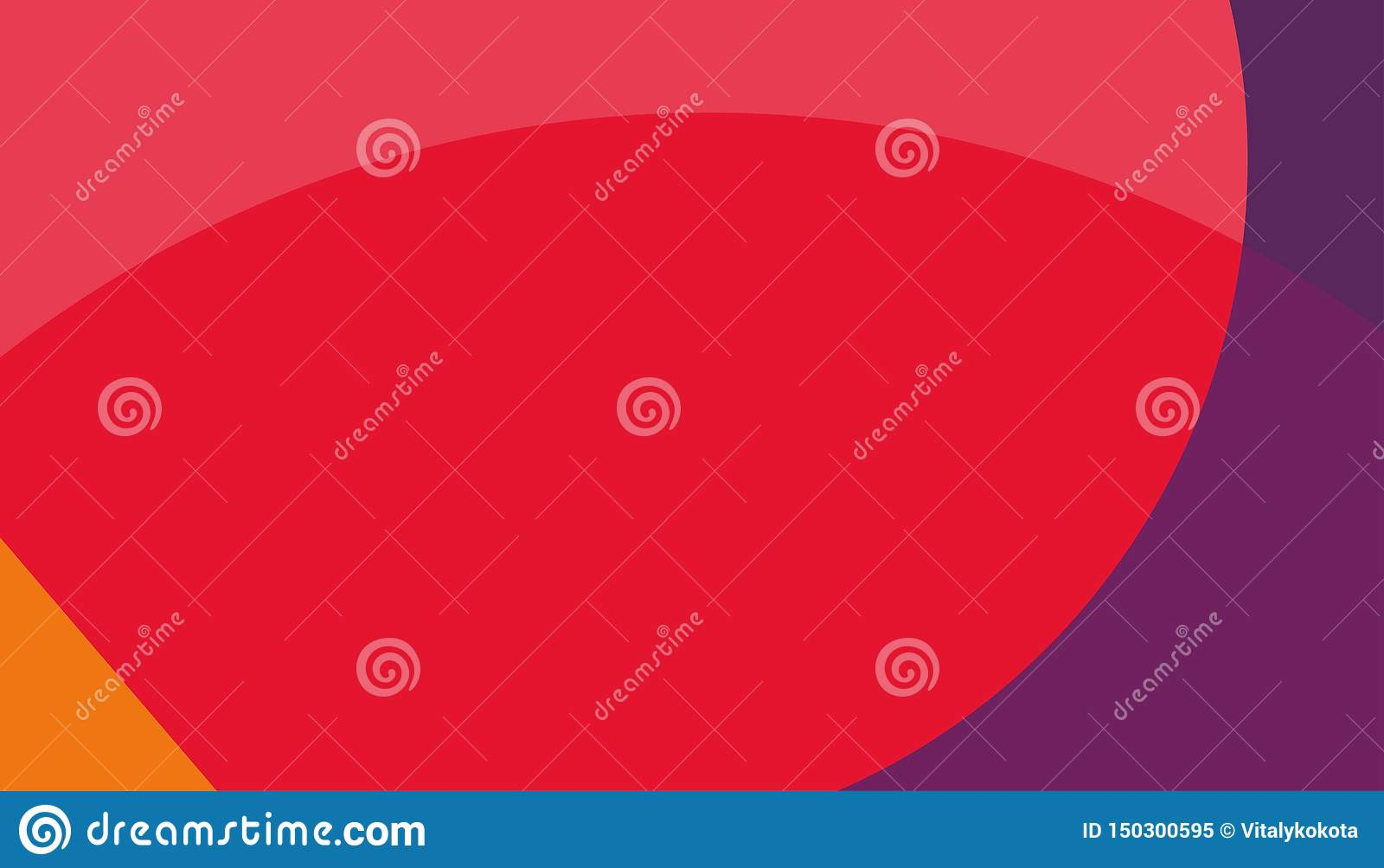 Fond rouge abstrait fond orange rouge bleu